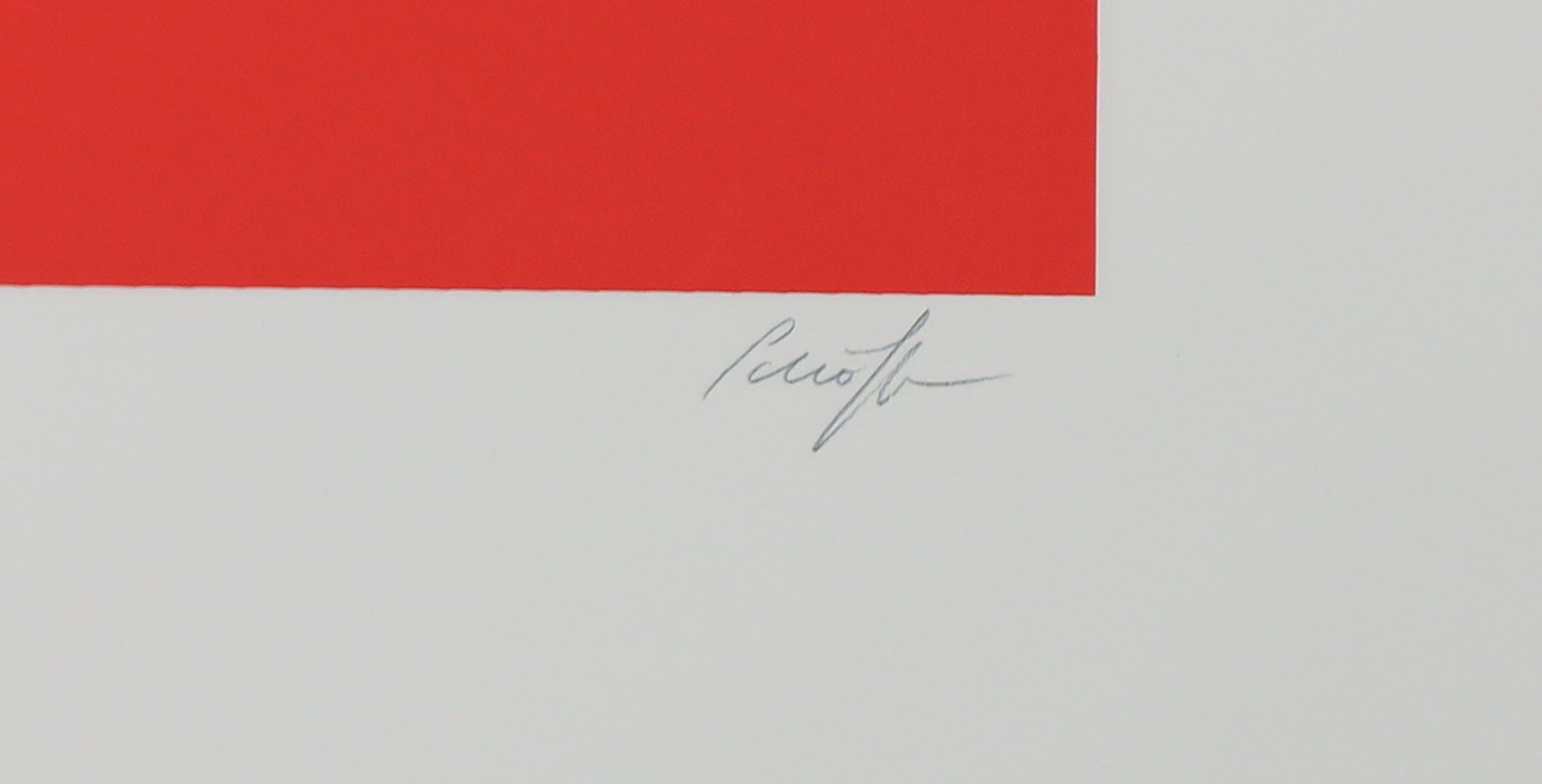 Nicolas Schoffer - Zeefdruk, Zonder titel kopen? Bied vanaf 100!