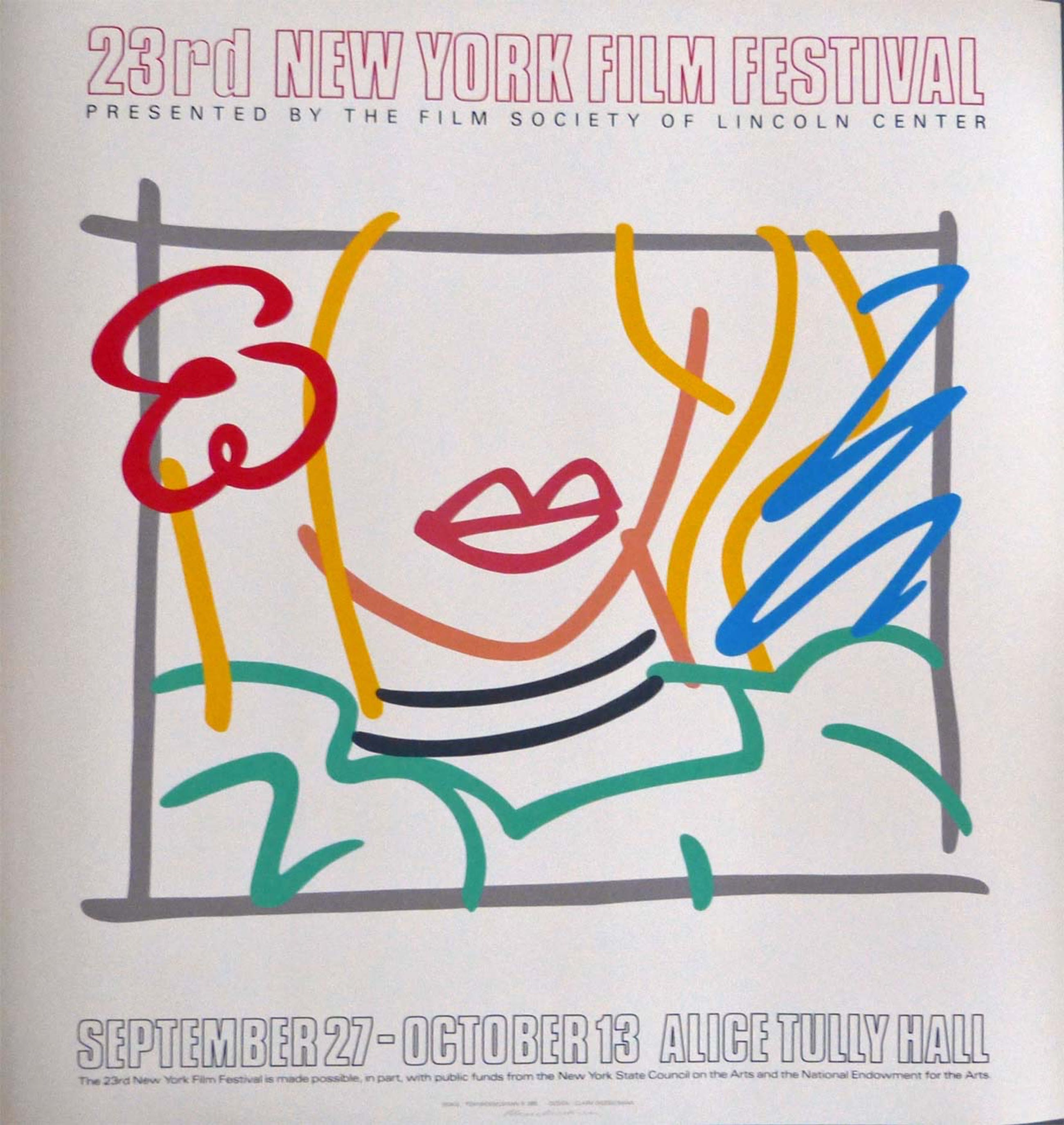 "Tom Wesselmann - ""Monica"" - Lincoln Center NY 1985 Vorzugsausgabe kopen? Bied vanaf 2200!"
