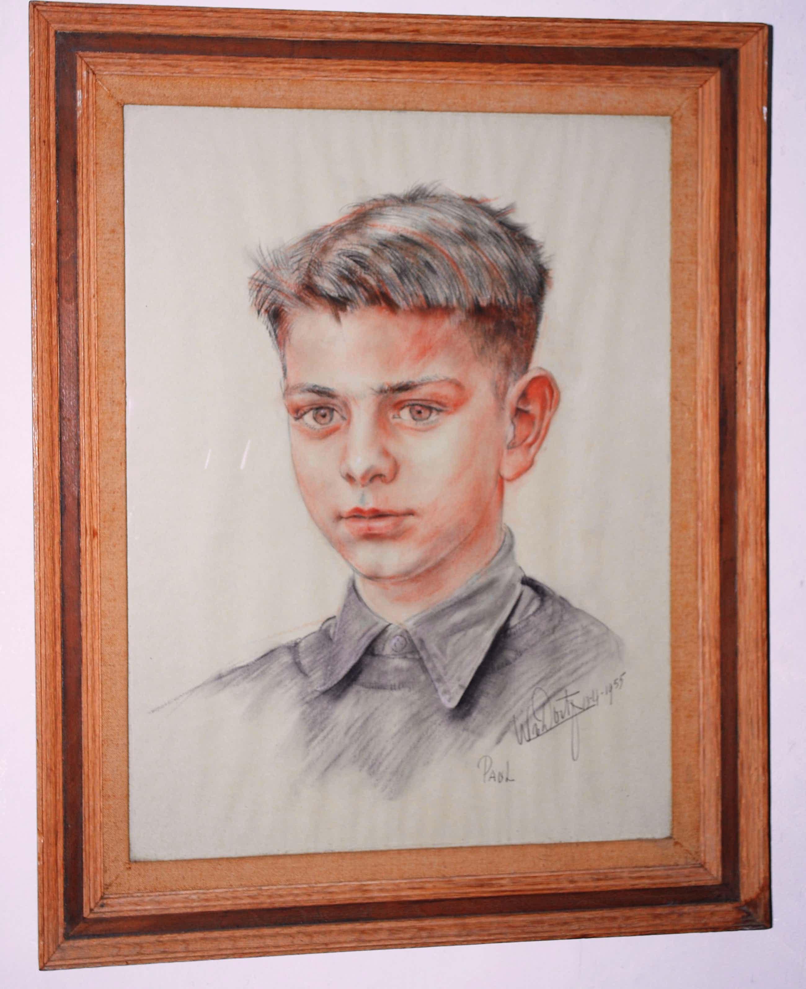 Willem van Dort - portret van Paul (1955) kopen? Bied vanaf 30!