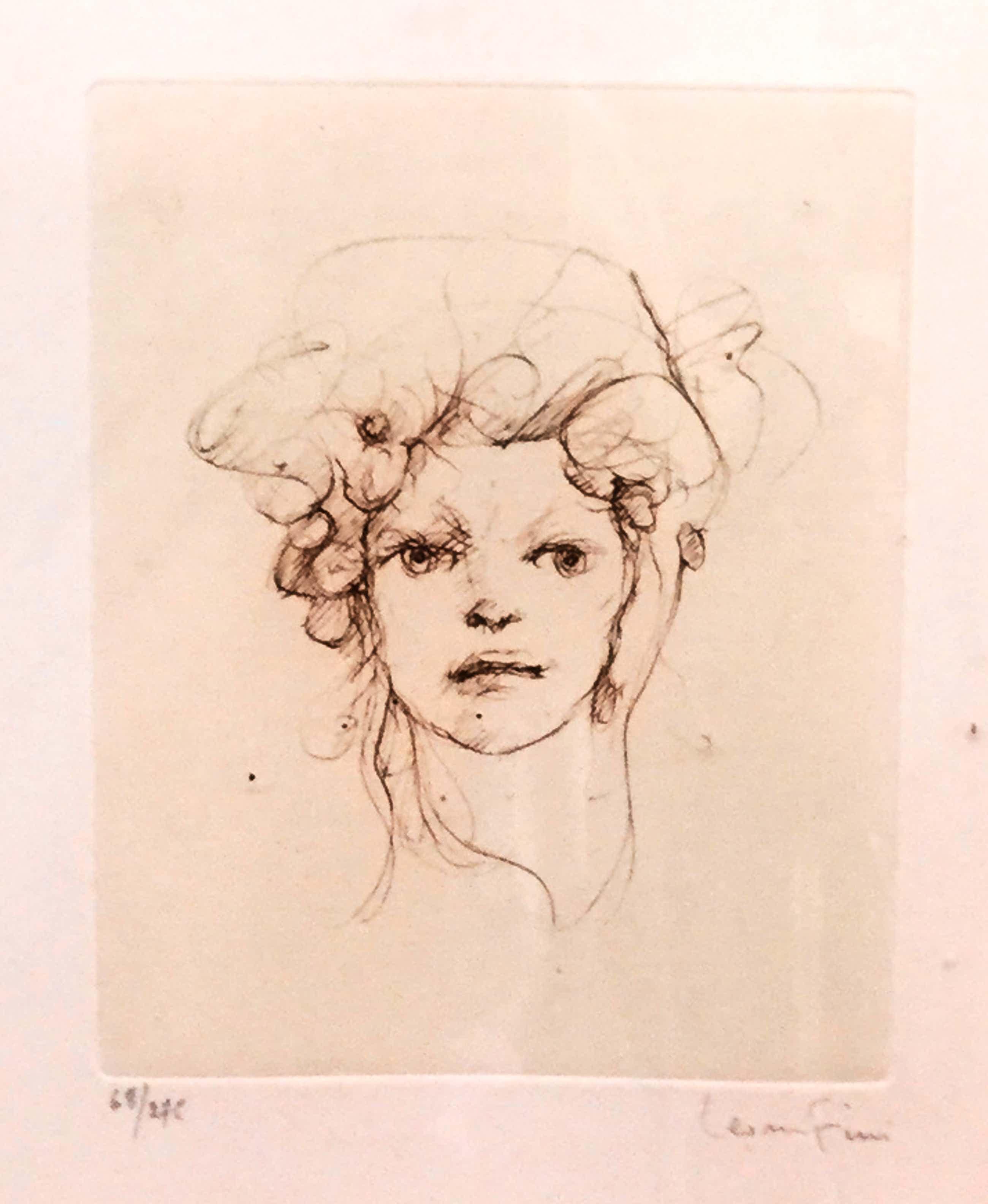 Leonor Fini - C3461-3, Portret kopen? Bied vanaf 150!