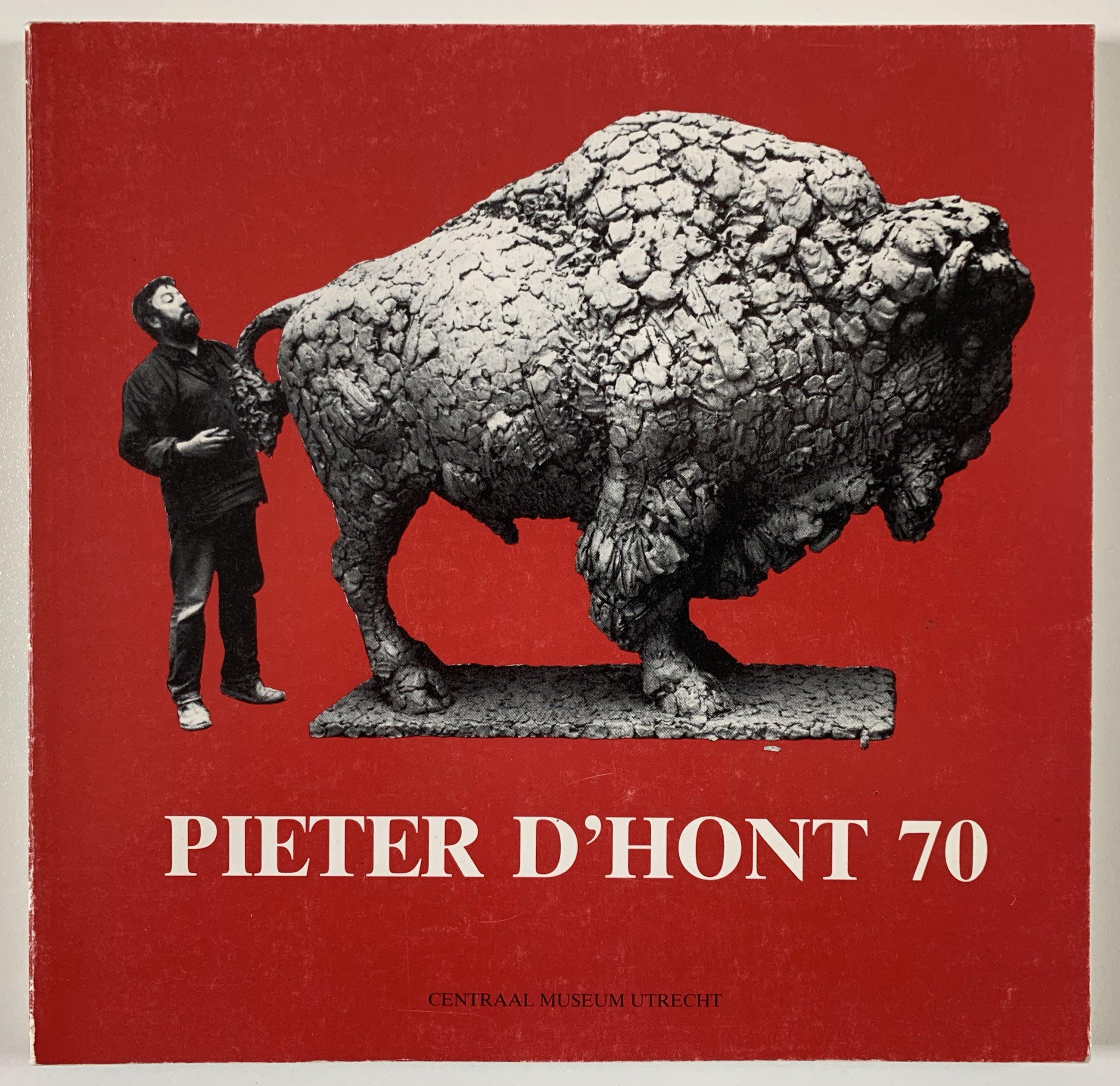 Pieter d' Hont - bronzen beeld - 'Bizon' - 1981 kopen? Bied vanaf 2200!