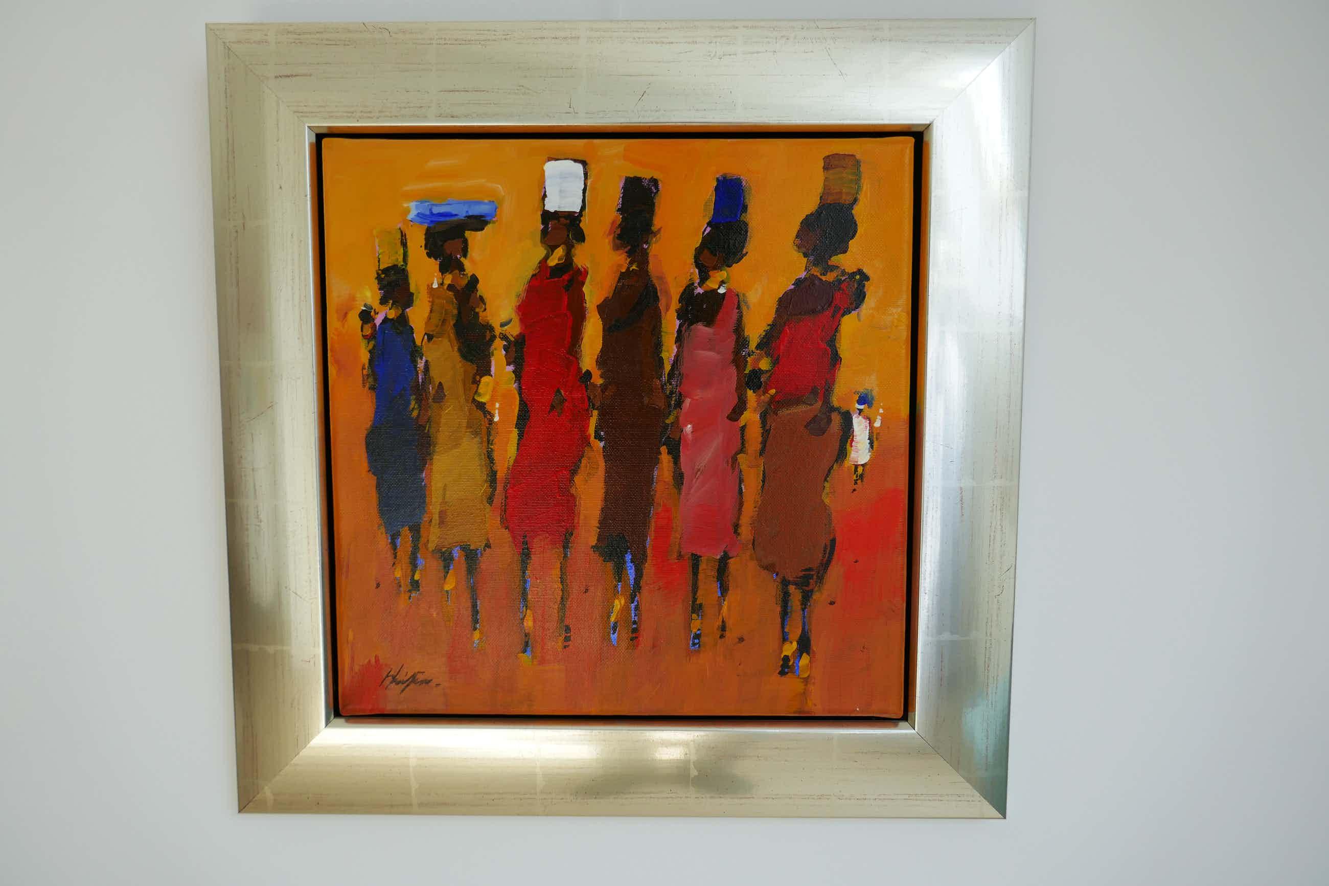Frans van der Heide - Onbekend, Afrikaanse figuren kopen? Bied vanaf 150!