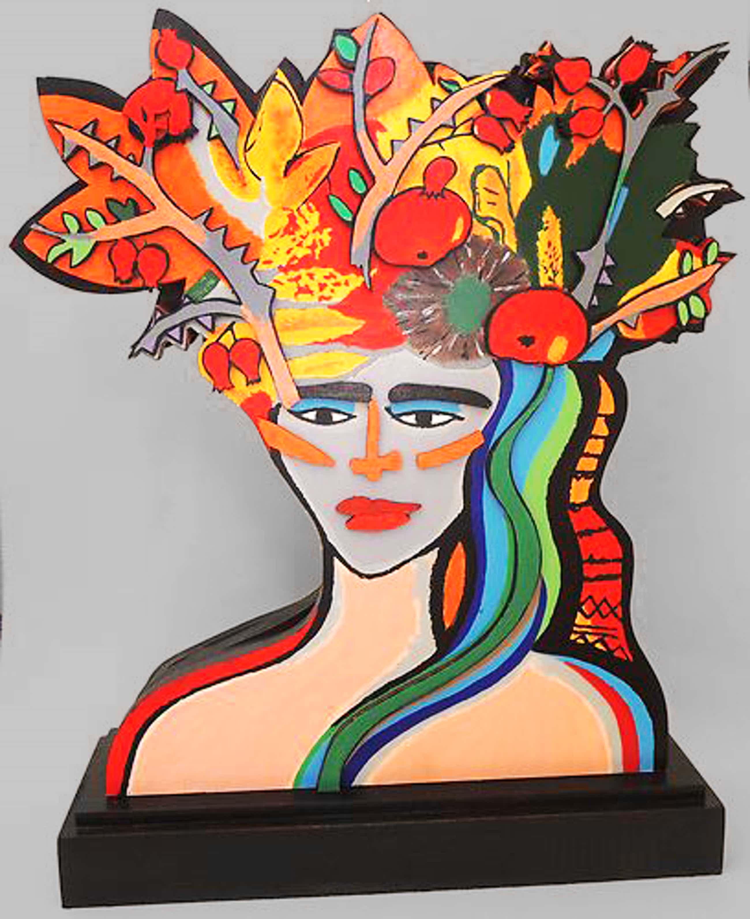 Elvira Bach - Earthly Paradise – Skulptur kopen? Bied vanaf 600!