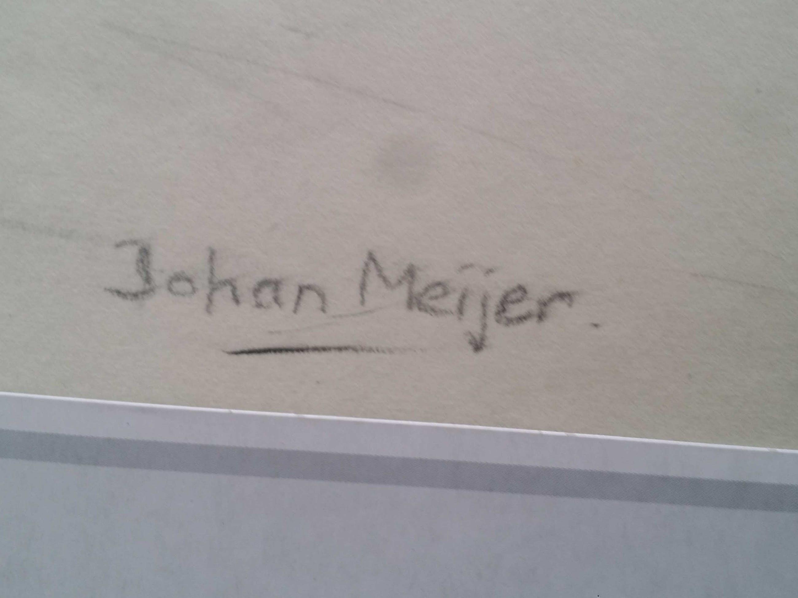 Johan Meijer - Naakt. Vrouw. Zittend. kopen? Bied vanaf 1!