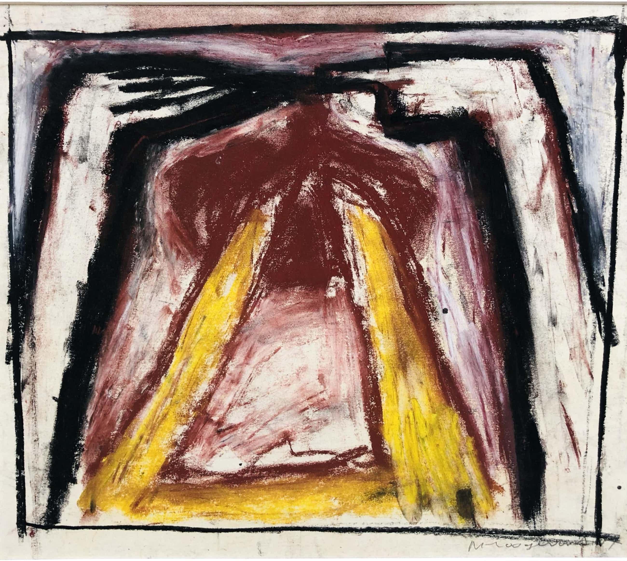 Michel Hoogervorst - abstracte compositie I kopen? Bied vanaf 95!