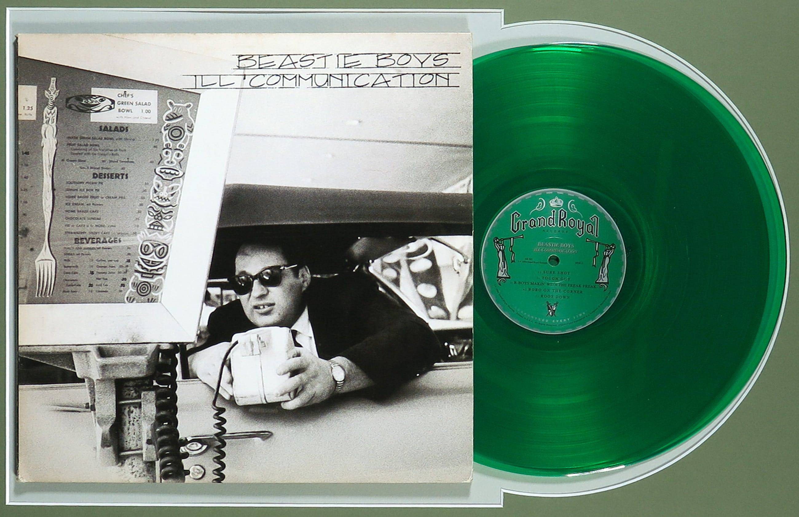 Beastie Boys - Dubbel LP Ill Communication - Groen vinyl - Ingelijst kopen? Bied vanaf 1!