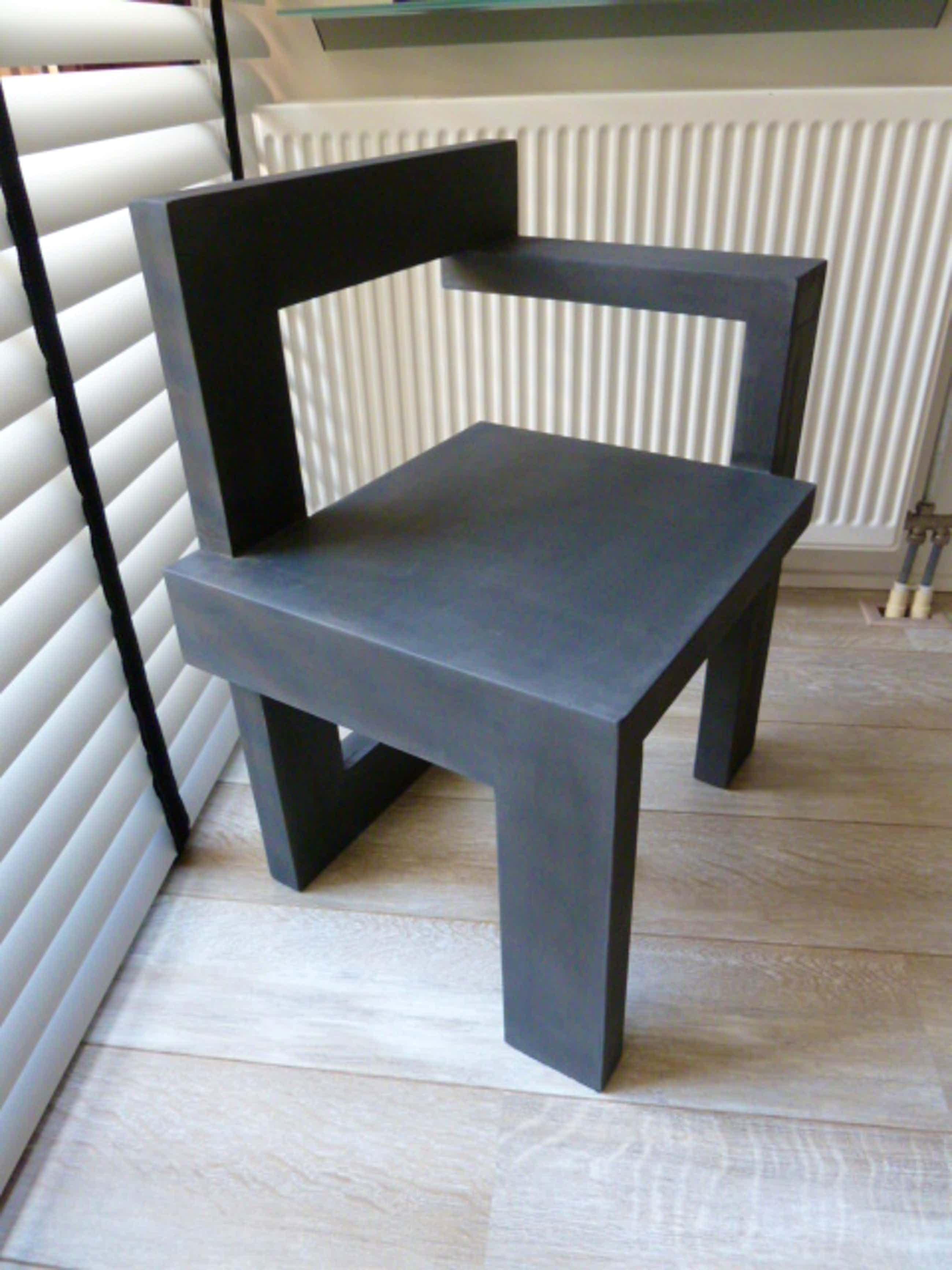 Gerrit Rietveld - Steltman stoel (naar ontwerp Rietveld) kopen? Bied vanaf 345!