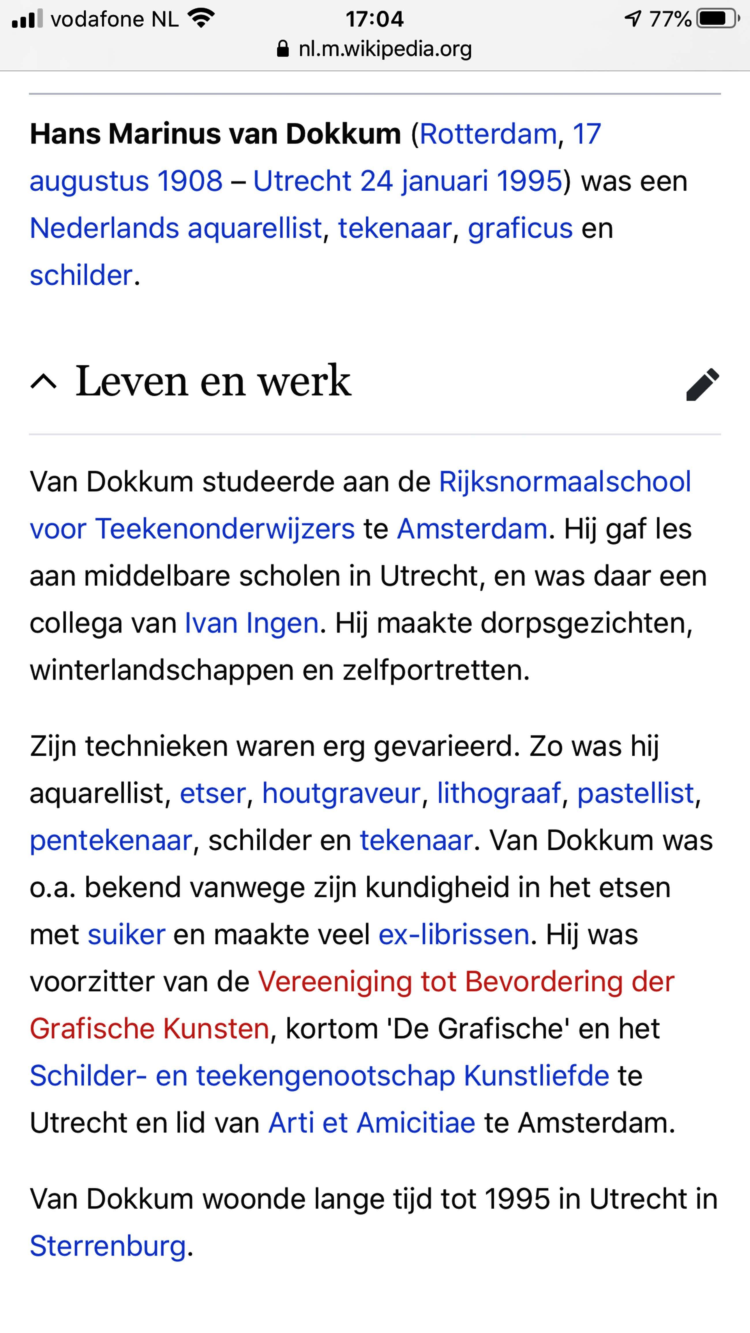 Hans van Dokkum - Diverse portretten kopen? Bied vanaf 56!
