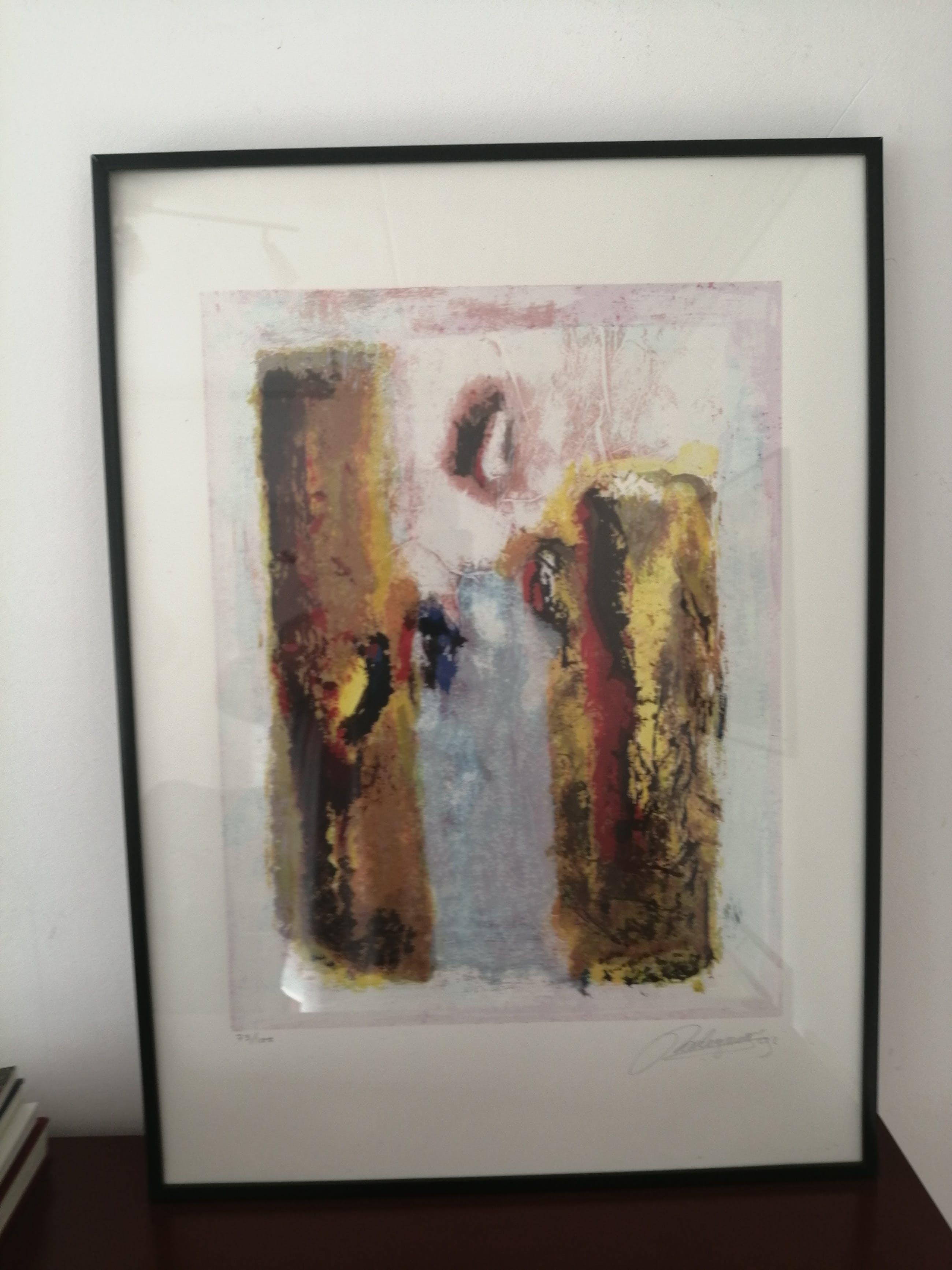 Jan Radersma - Prachtig abstract werk kopen? Bied vanaf 45!
