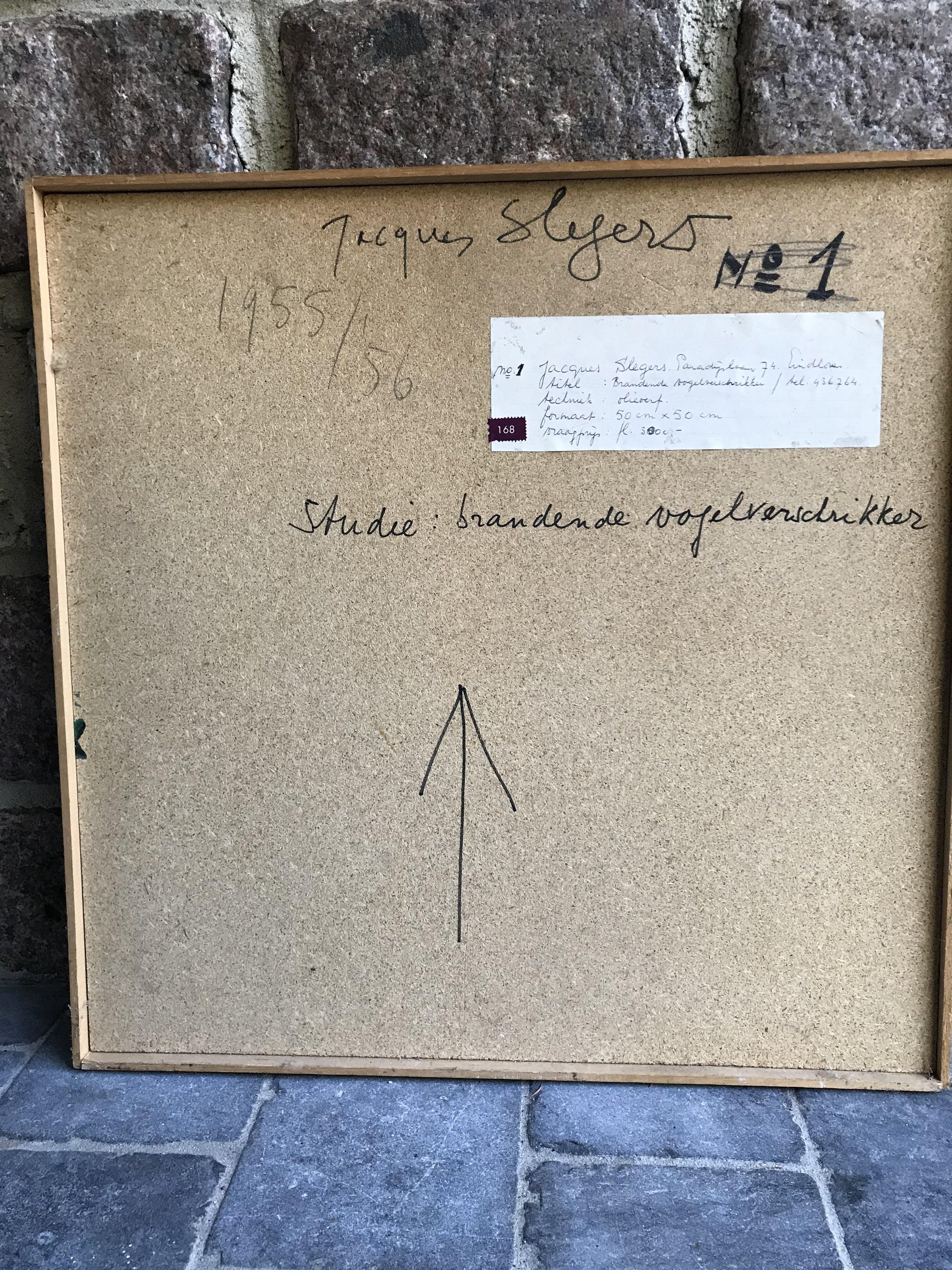 Jacques Slegers - Brandende vogelverschrikker kopen? Bied vanaf 100!