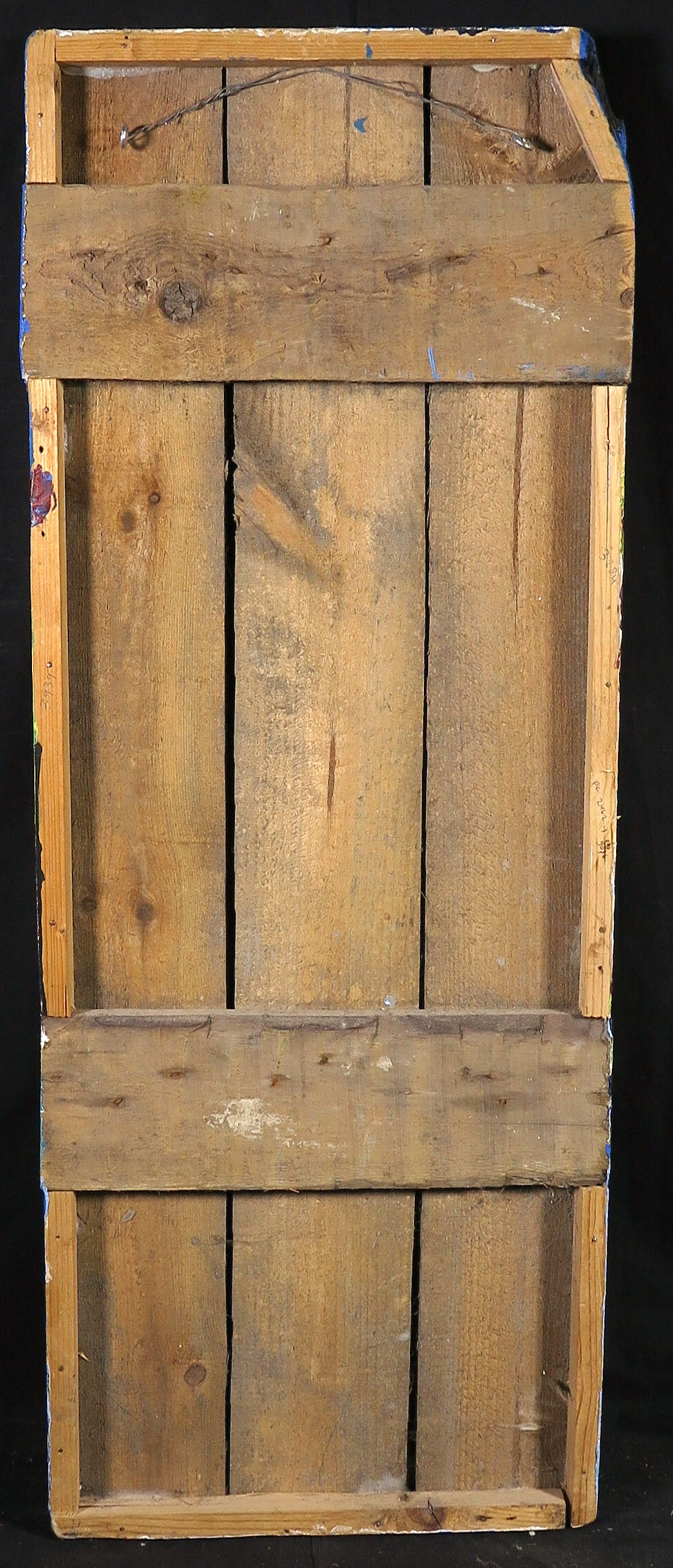 Ron van den Bosch - Acryl op hout, Zonder titel (Groot, met ophangsysteem) kopen? Bied vanaf 200!