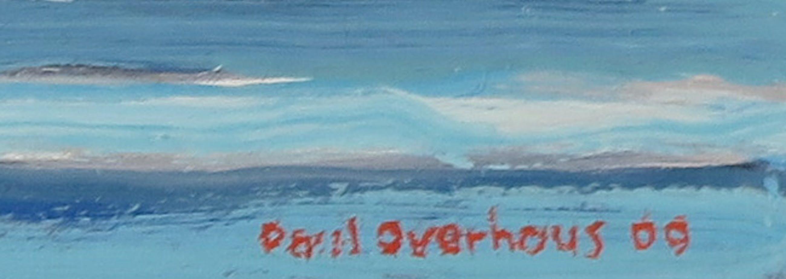 Paul Overhaus - Olieverf op board, Duin - Ingelijst kopen? Bied vanaf 50!