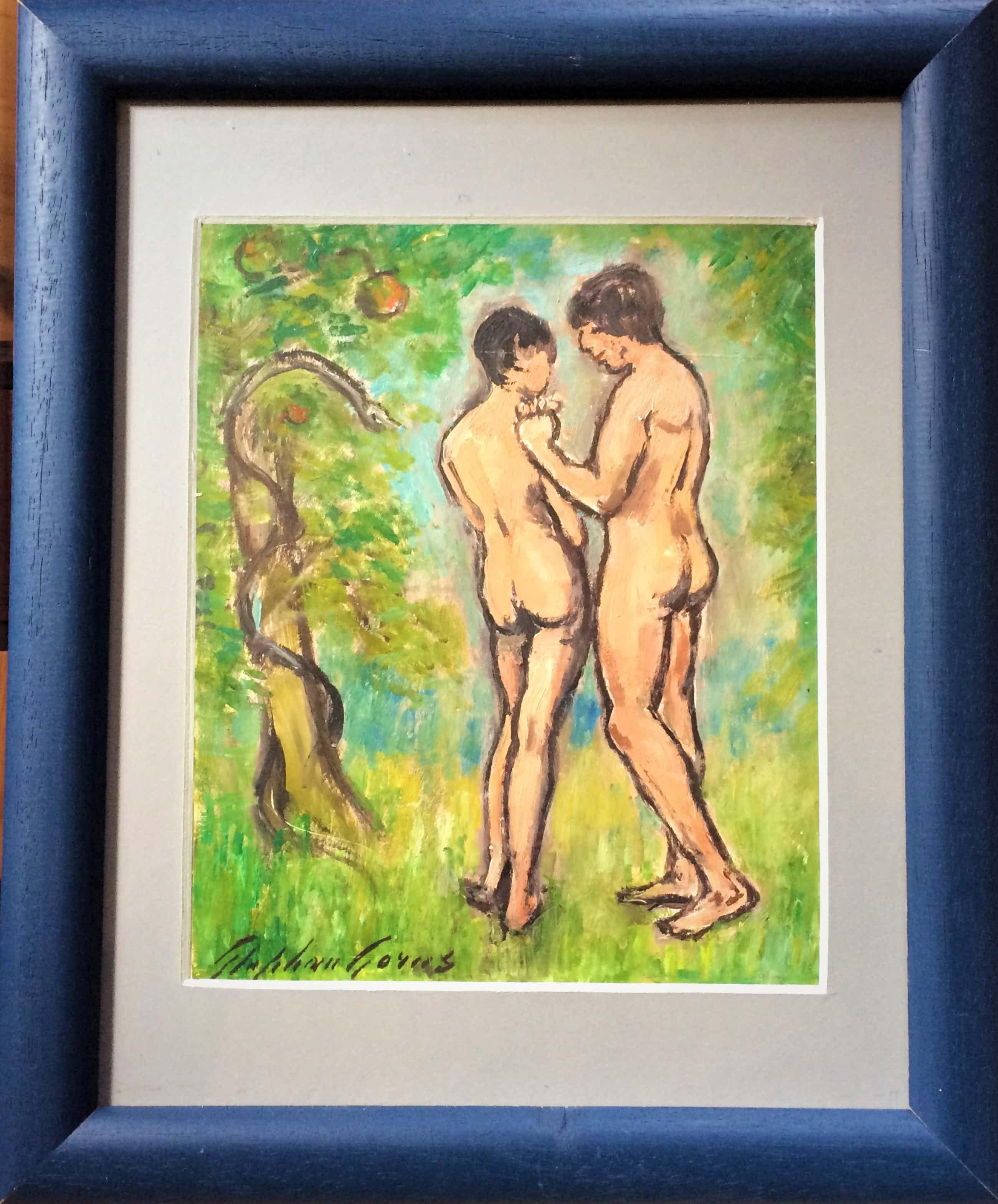 Stephan Gorus - Naakten Adam met Eva kopen? Bied vanaf 25!