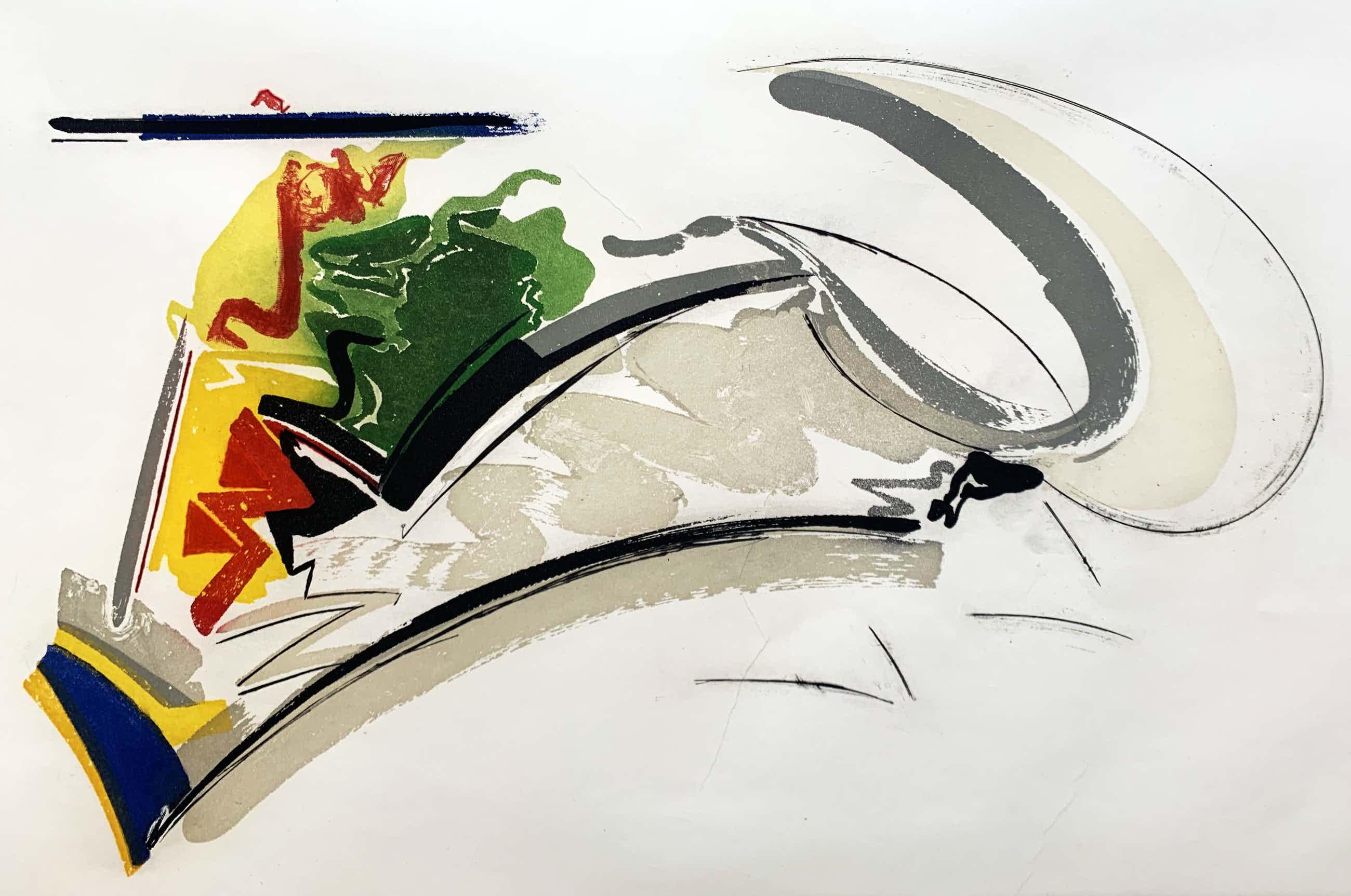 Peter van Drumpt - kleurenets - zonder titel - 1993 (Kleine oplage) kopen? Bied vanaf 60!