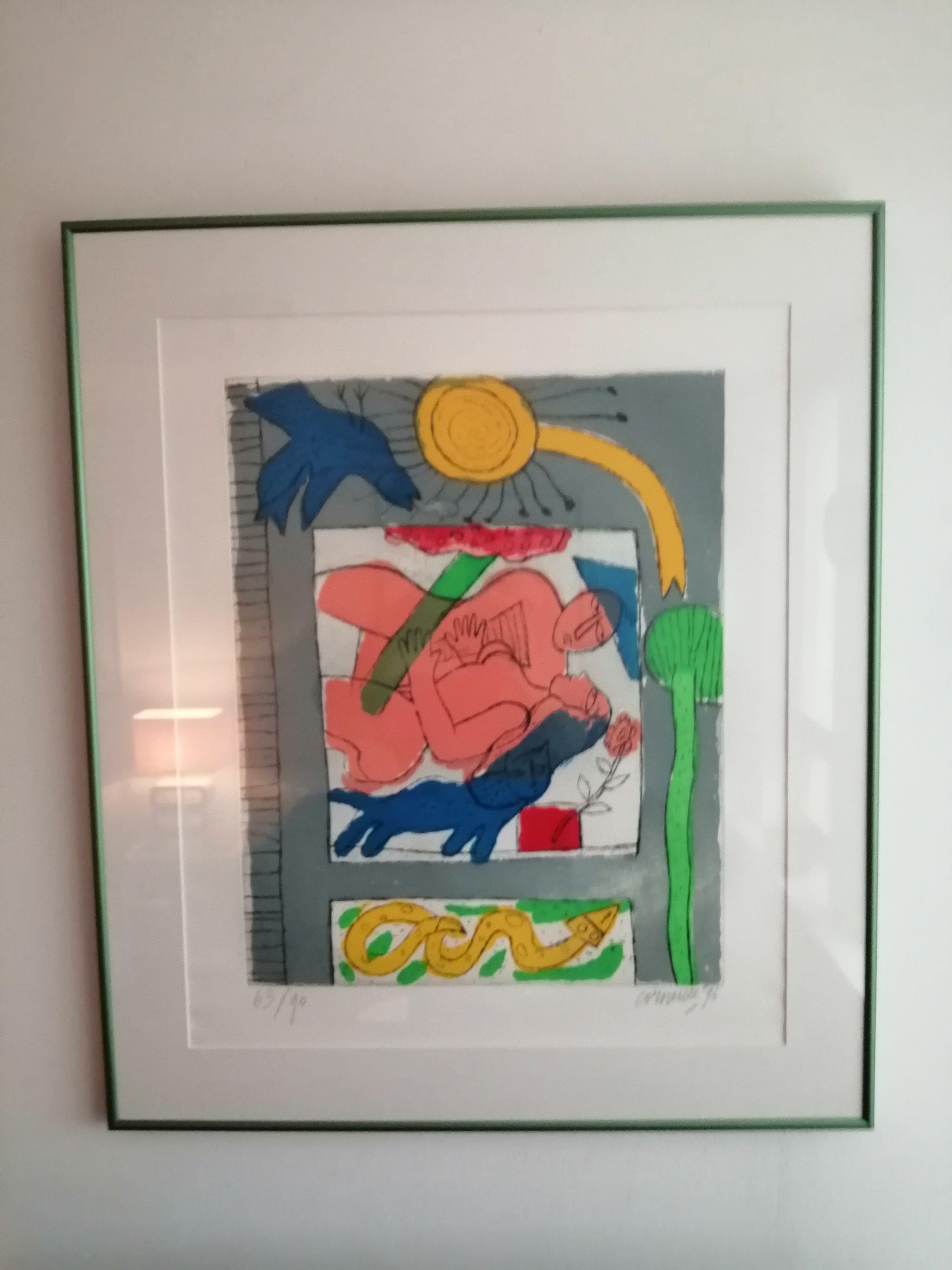 Corneille - Prachtig werk uit 1996 kopen? Bied vanaf 275!
