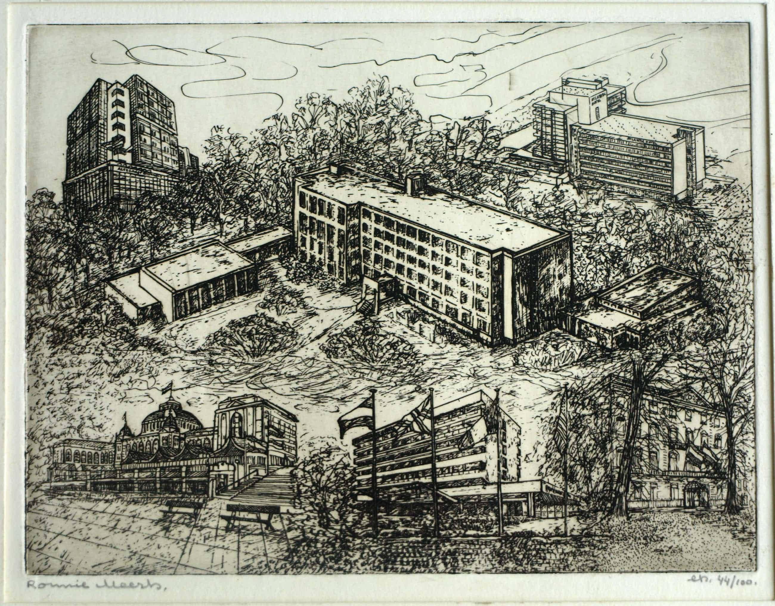 Ronnie Meerts - Ets , Hotelschool Den Haag kopen? Bied vanaf 25!