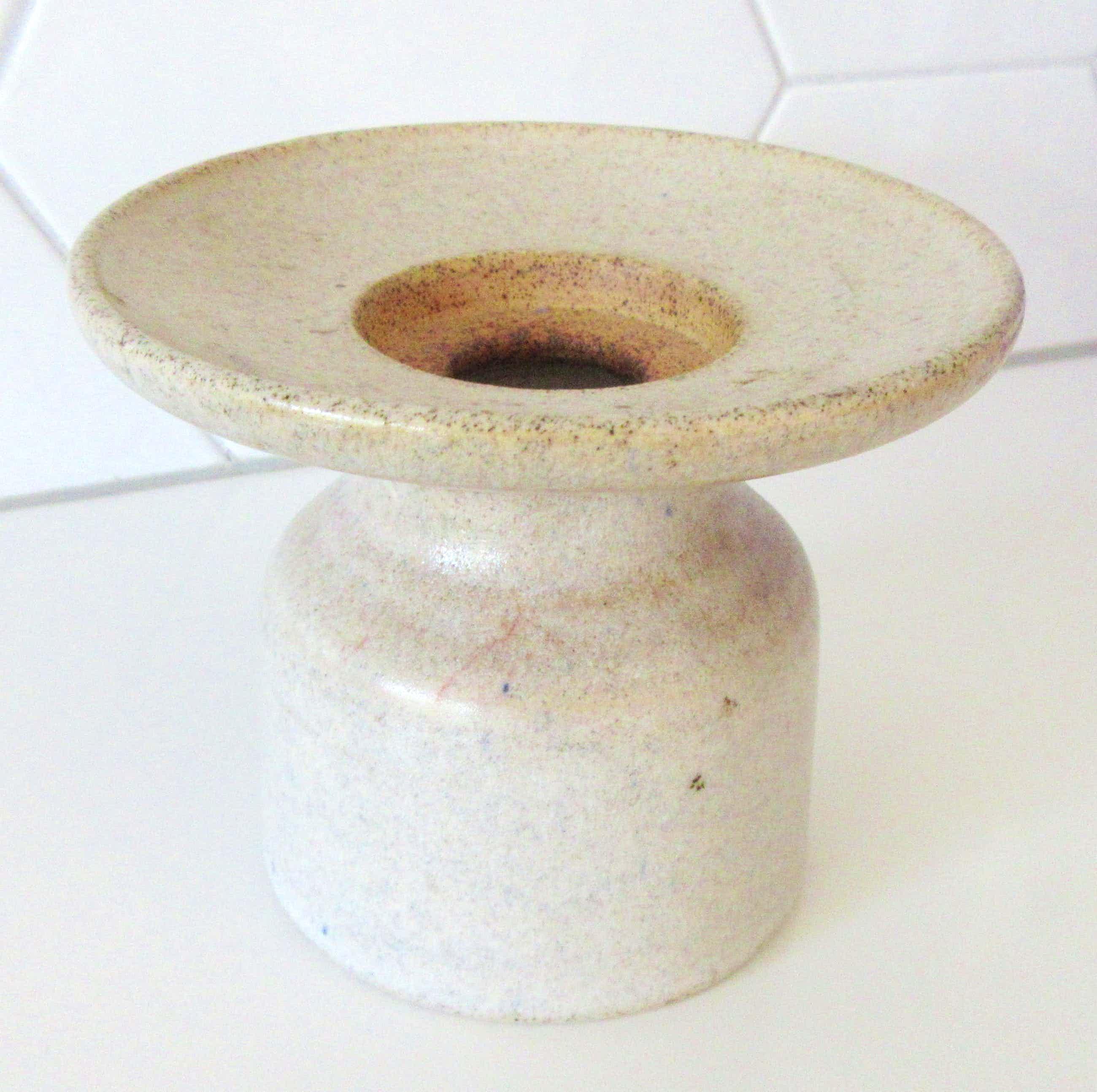 Potterij Zaalberg - kunst aardewerken kandelaar kopen? Bied vanaf 4!
