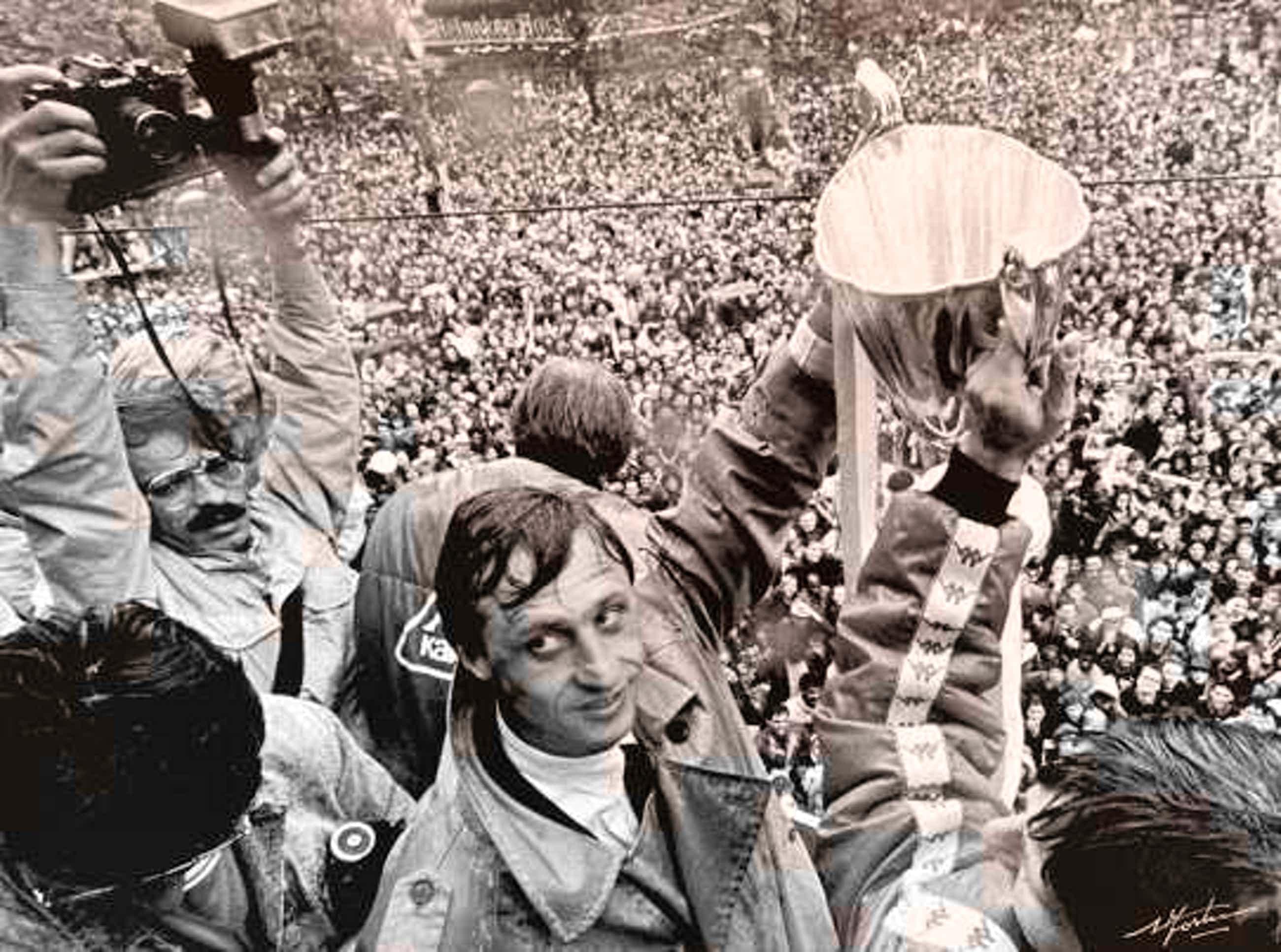 Nico Koster - Johan Cruijff / Ajax Europacup 1 1973 kopen? Bied vanaf 95!