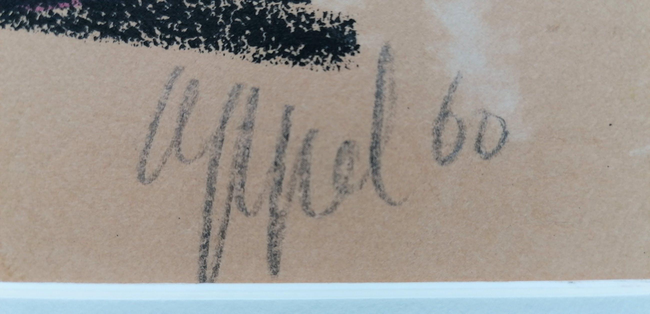 """Karel Appel - """"Deux Personnages"""" (196o) kopen? Bied vanaf 1!"""