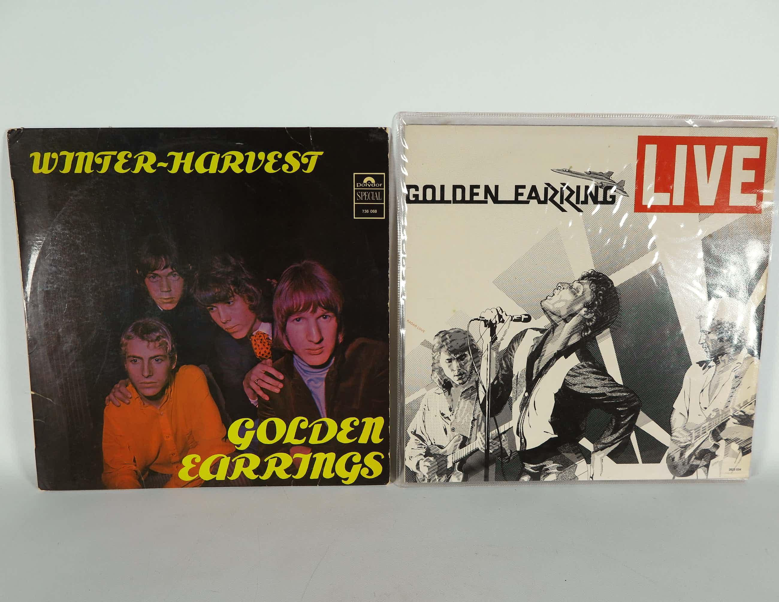 Golden Earring - Dubbel LP Live + LP Winter Harvest kopen? Bied vanaf 12!