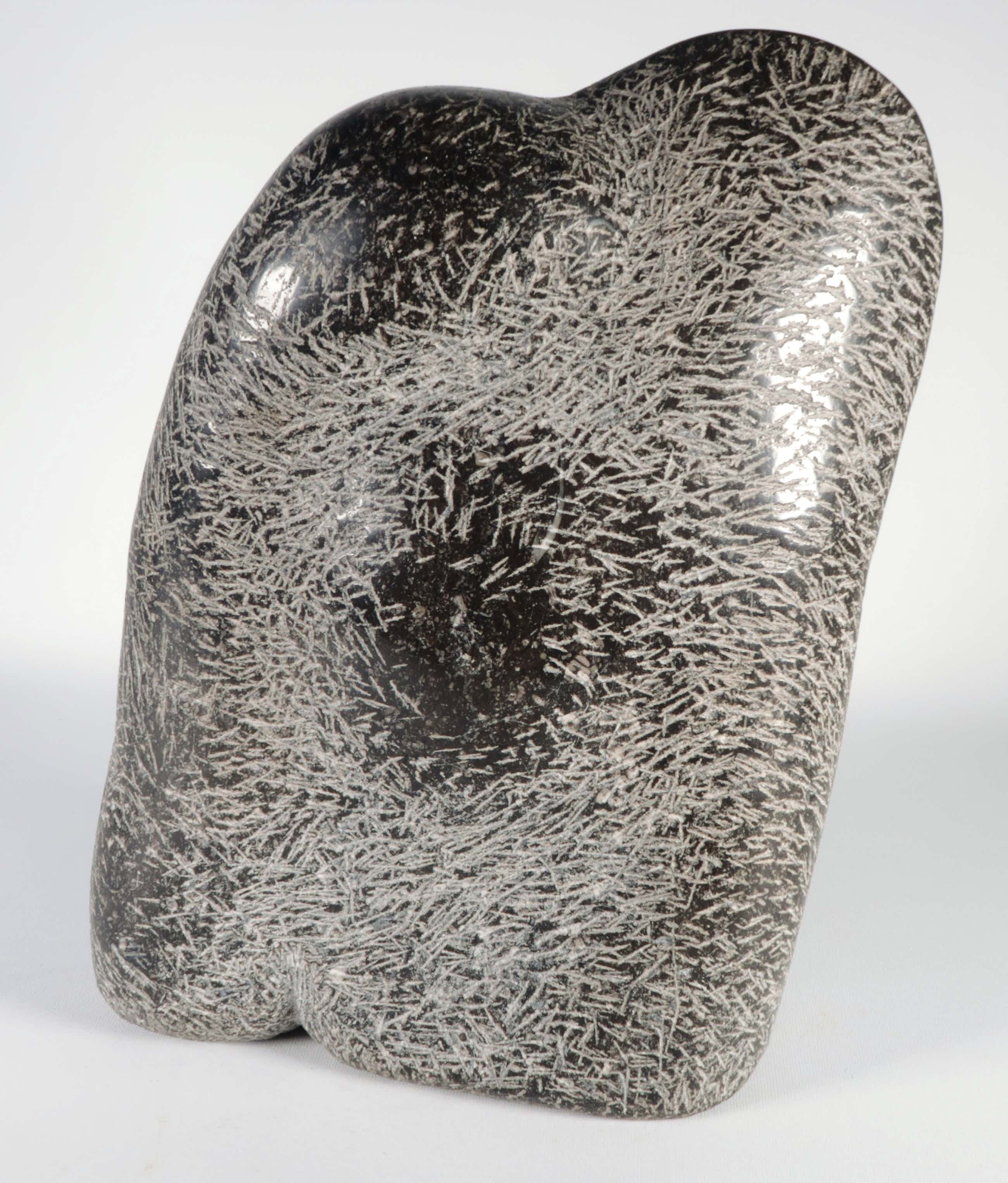Hans Bos - Sculptuur van arduin, Zonder titel kopen? Bied vanaf 100!