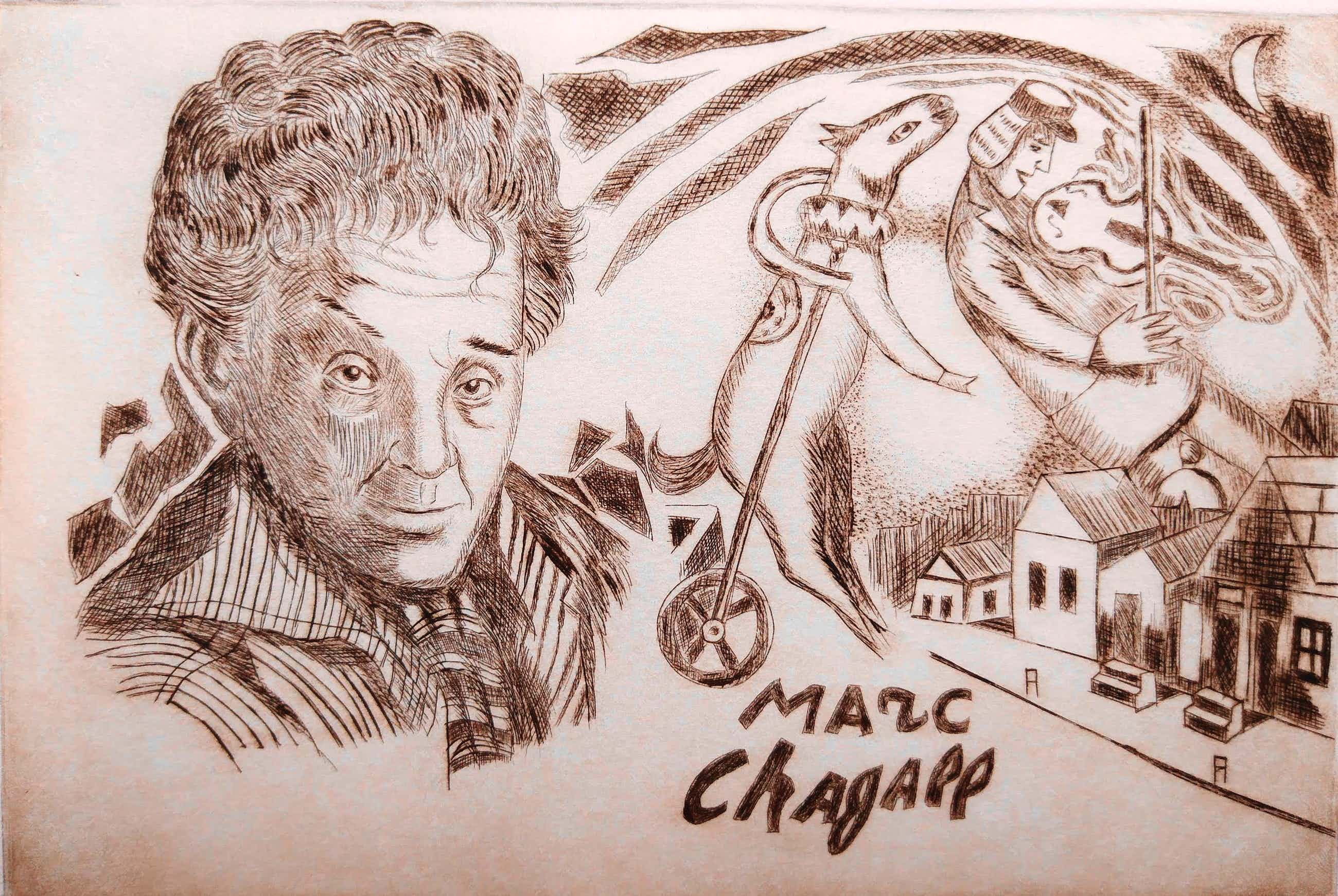 George C. Crionas - Homage to Chagall kopen? Bied vanaf 20!