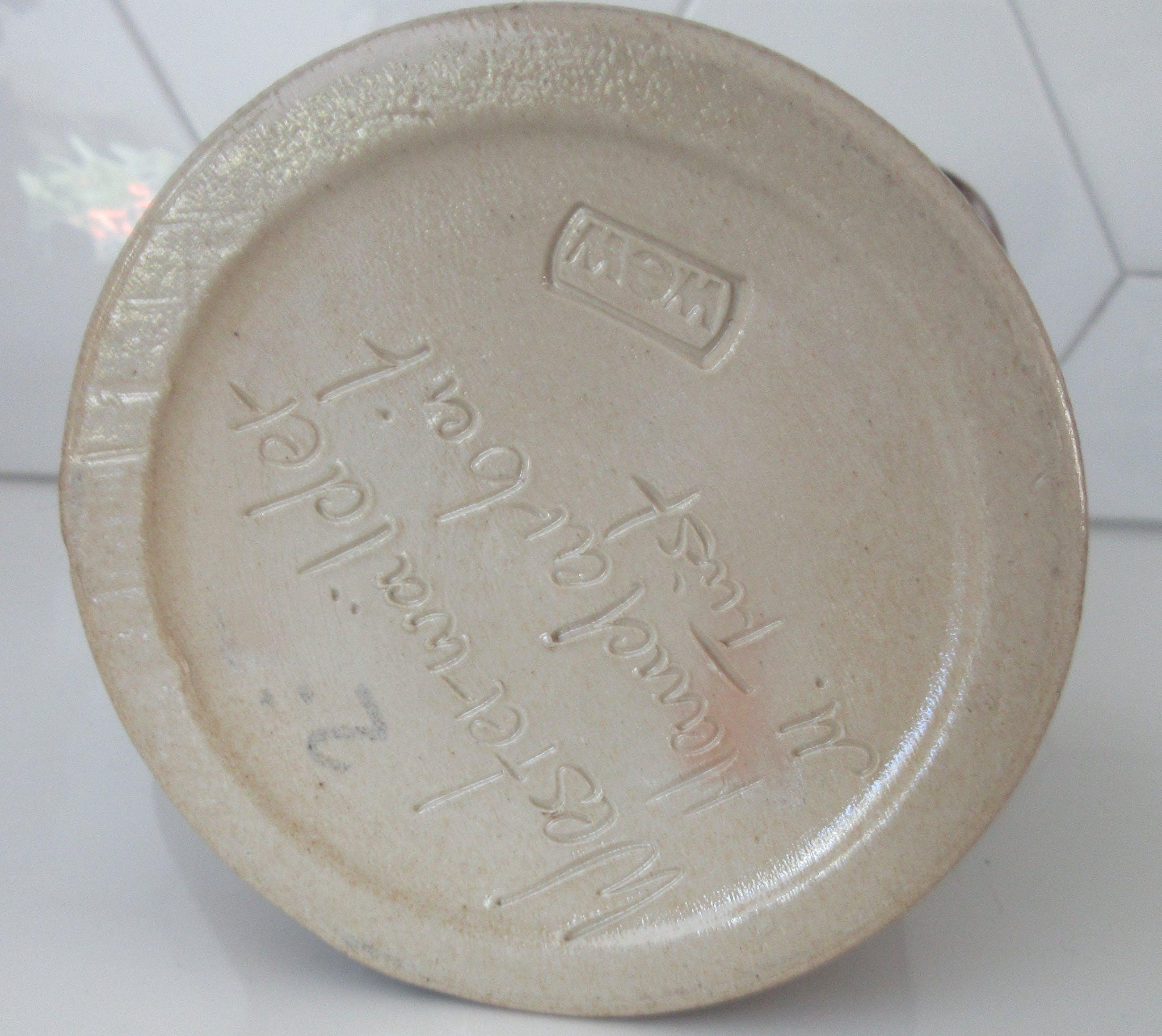 Niet of onleesbaar gesigneerd - Westerwalder steengoed waterkan - M. Twist kopen? Bied vanaf 1!