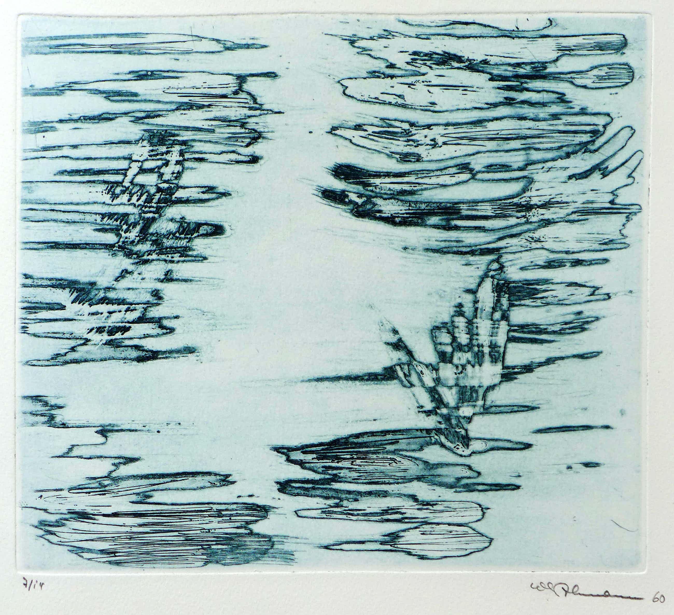 Friederich Werthmann - informelle Komposition, 1960 kopen? Bied vanaf 280!