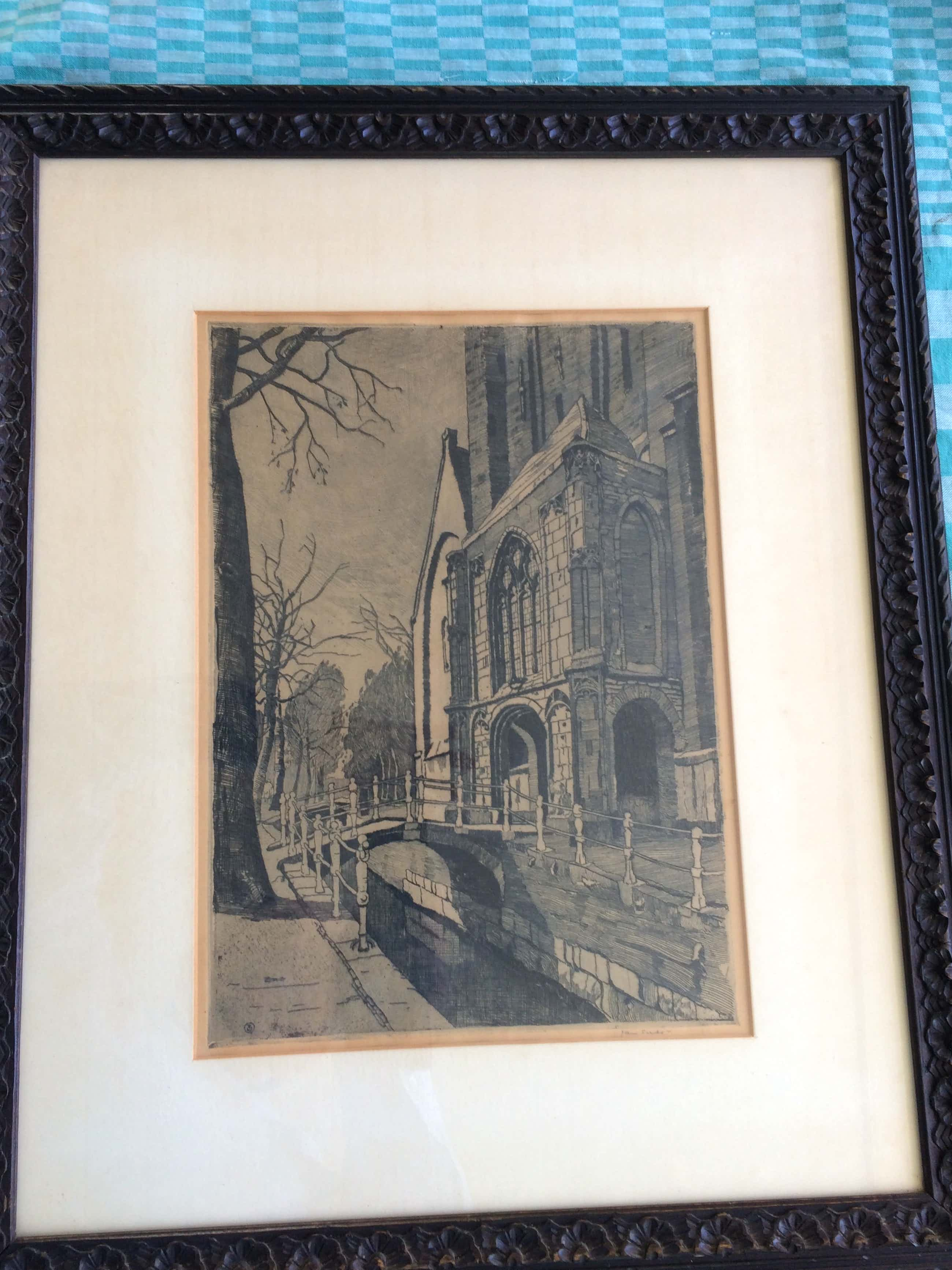 Jan Sirks - Oude kerk Delft kopen? Bied vanaf 75!