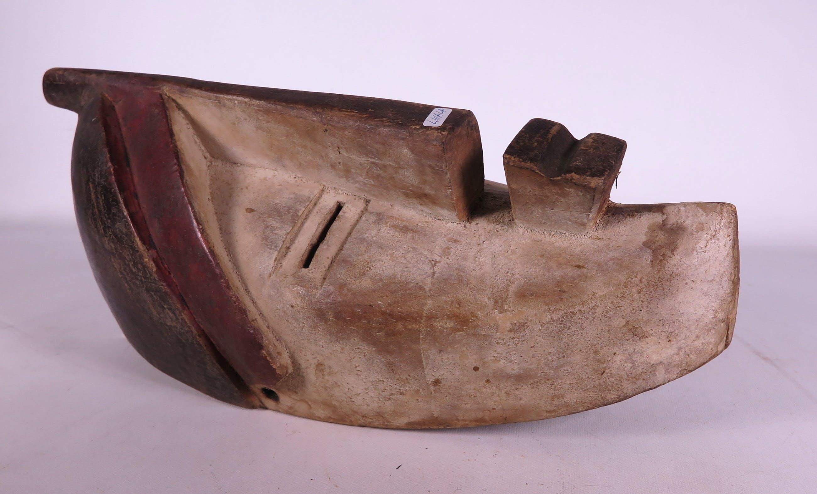 Lwalwa - Masker van hout met vierkante mond kopen? Bied vanaf 1!