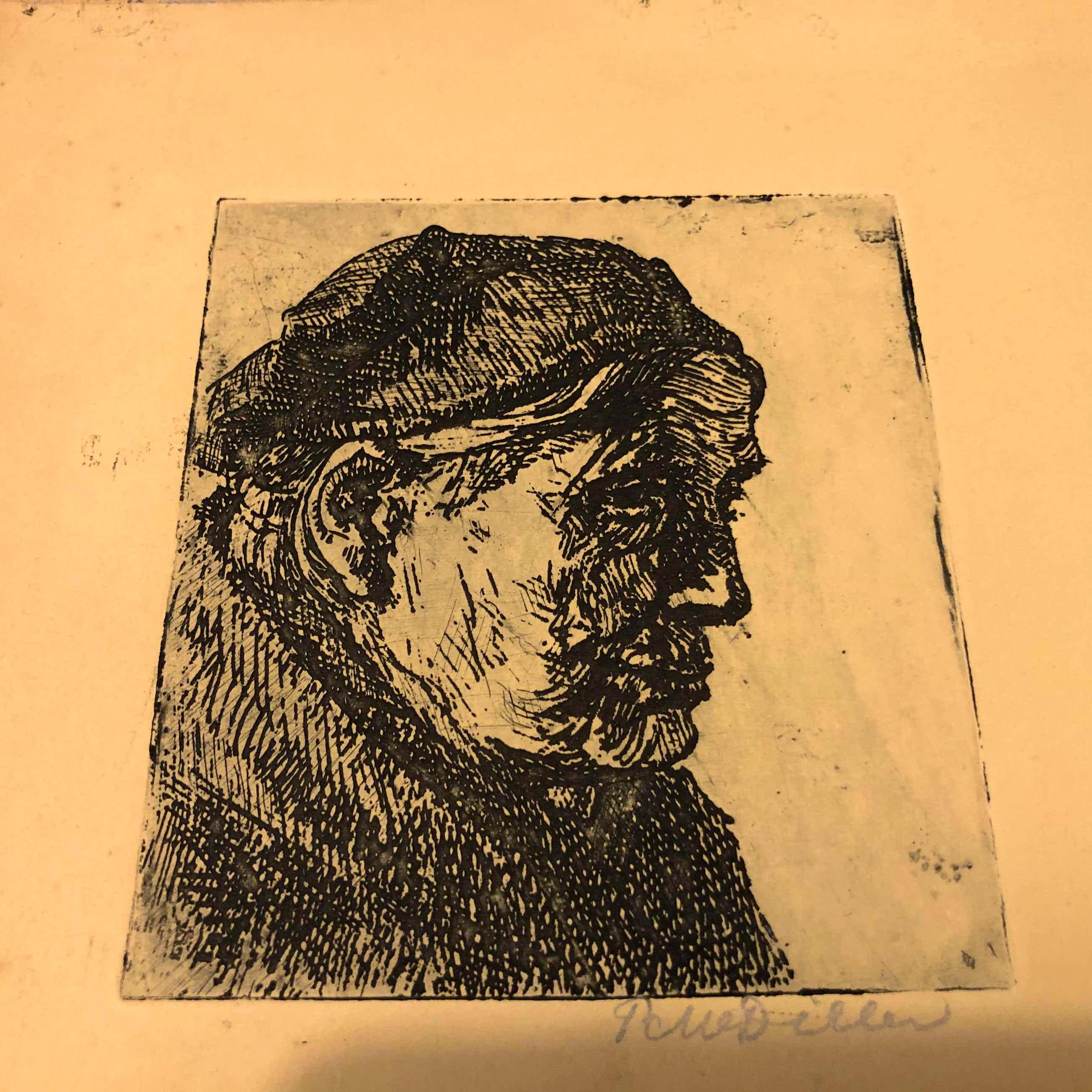 Peter Martinus Dillen - Portret oude man kopen? Bied vanaf 25!