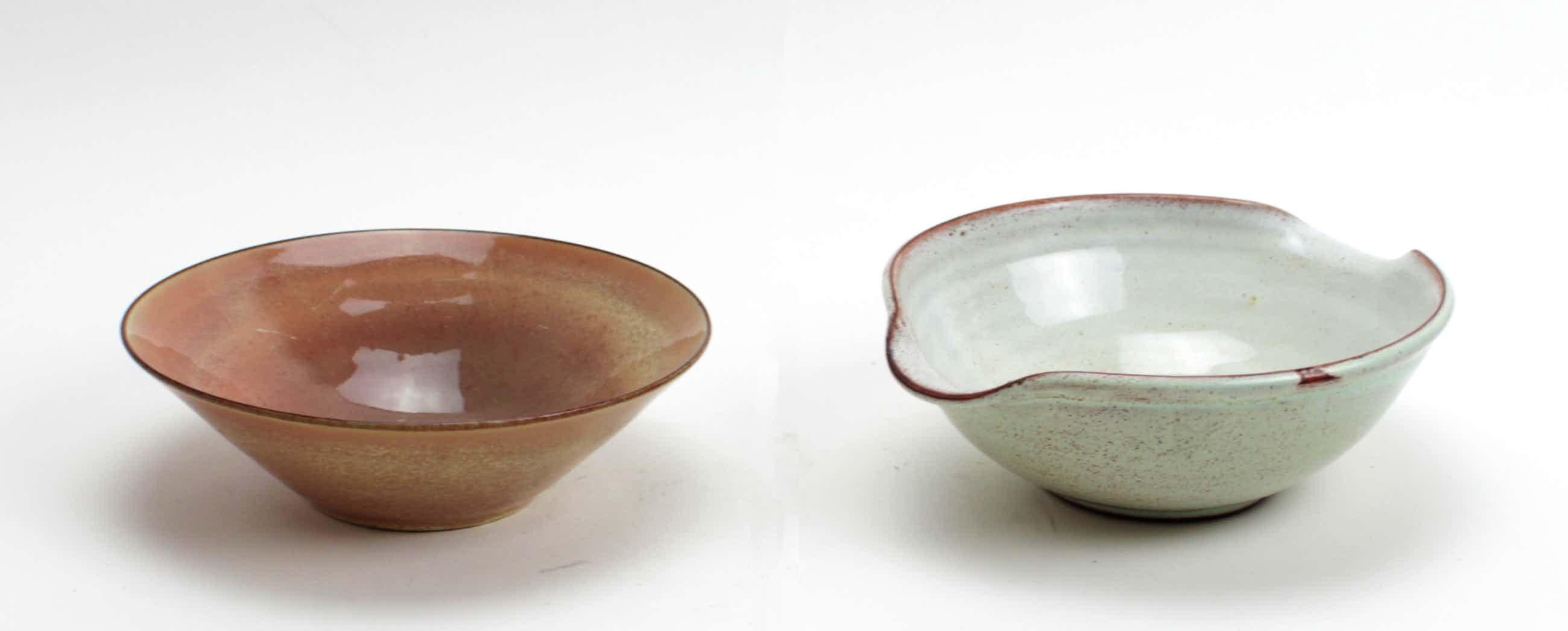Potterij Zaalberg - 2 aardewerk kommen kopen? Bied vanaf 10!