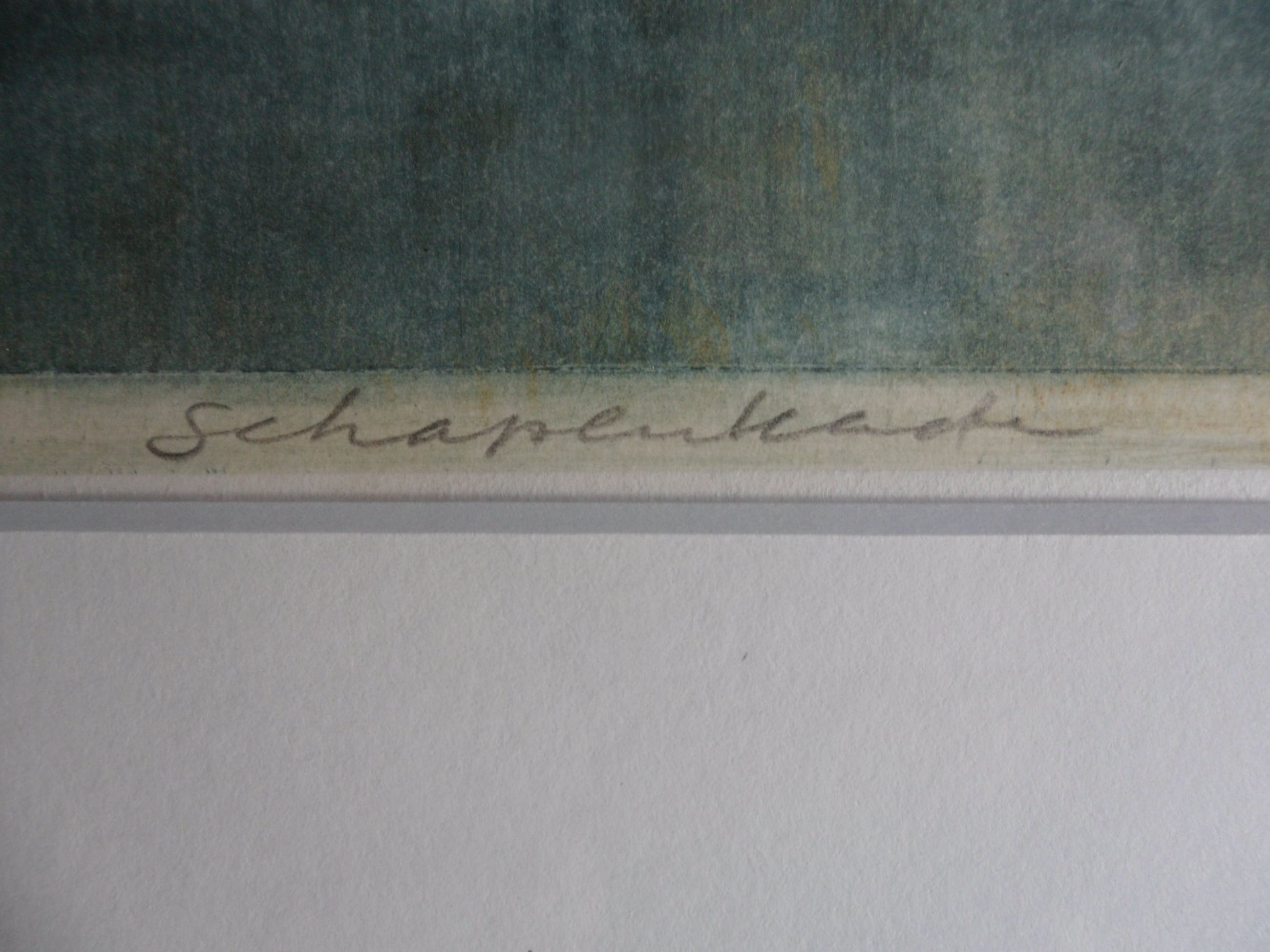 """Theo Ros - Ets, Titel, """"Schapenkudde"""". kopen? Bied vanaf 25!"""