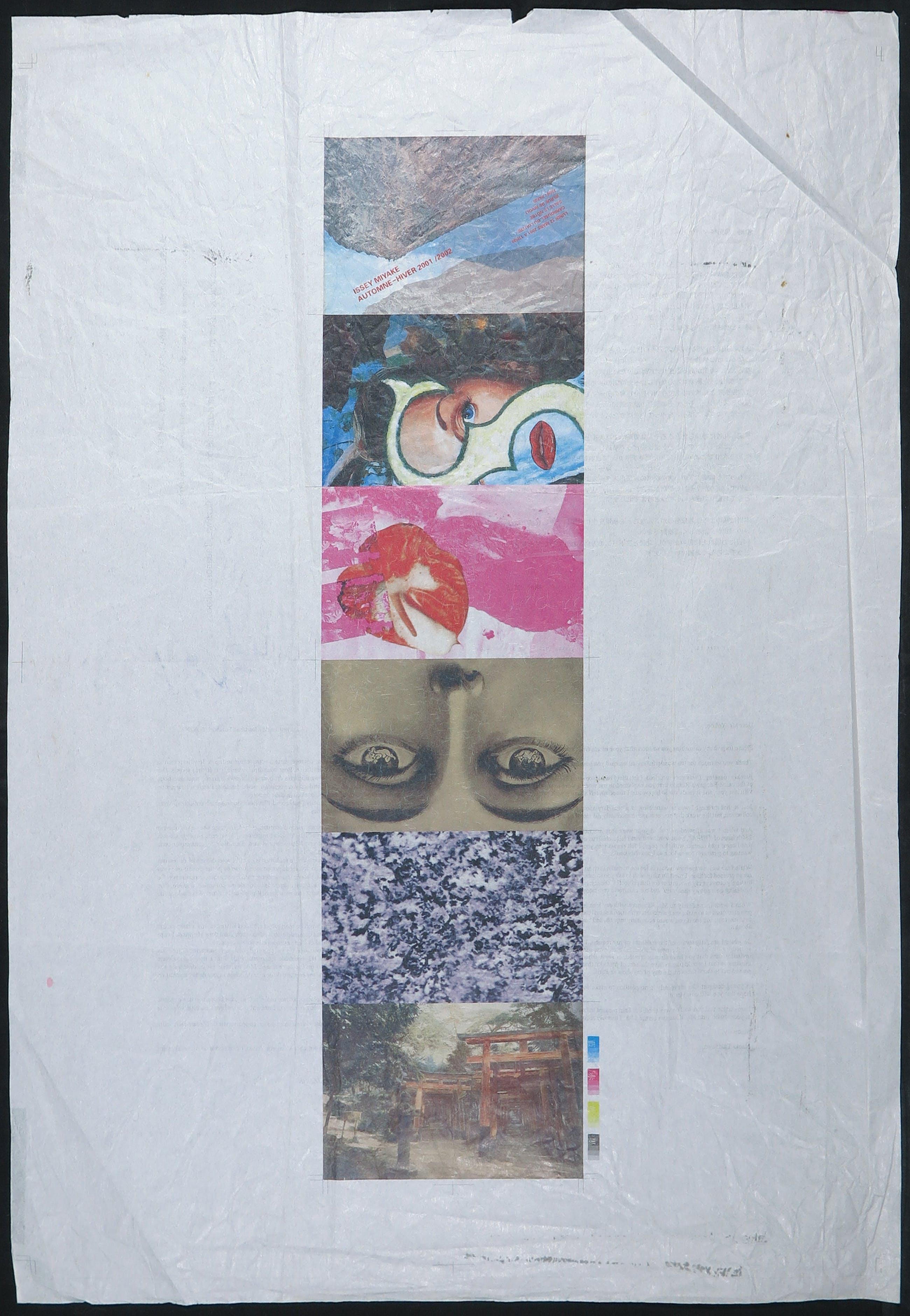Tadanori Yokoo - Affiche op rijstpapier, Issey Miyake kopen? Bied vanaf 1!