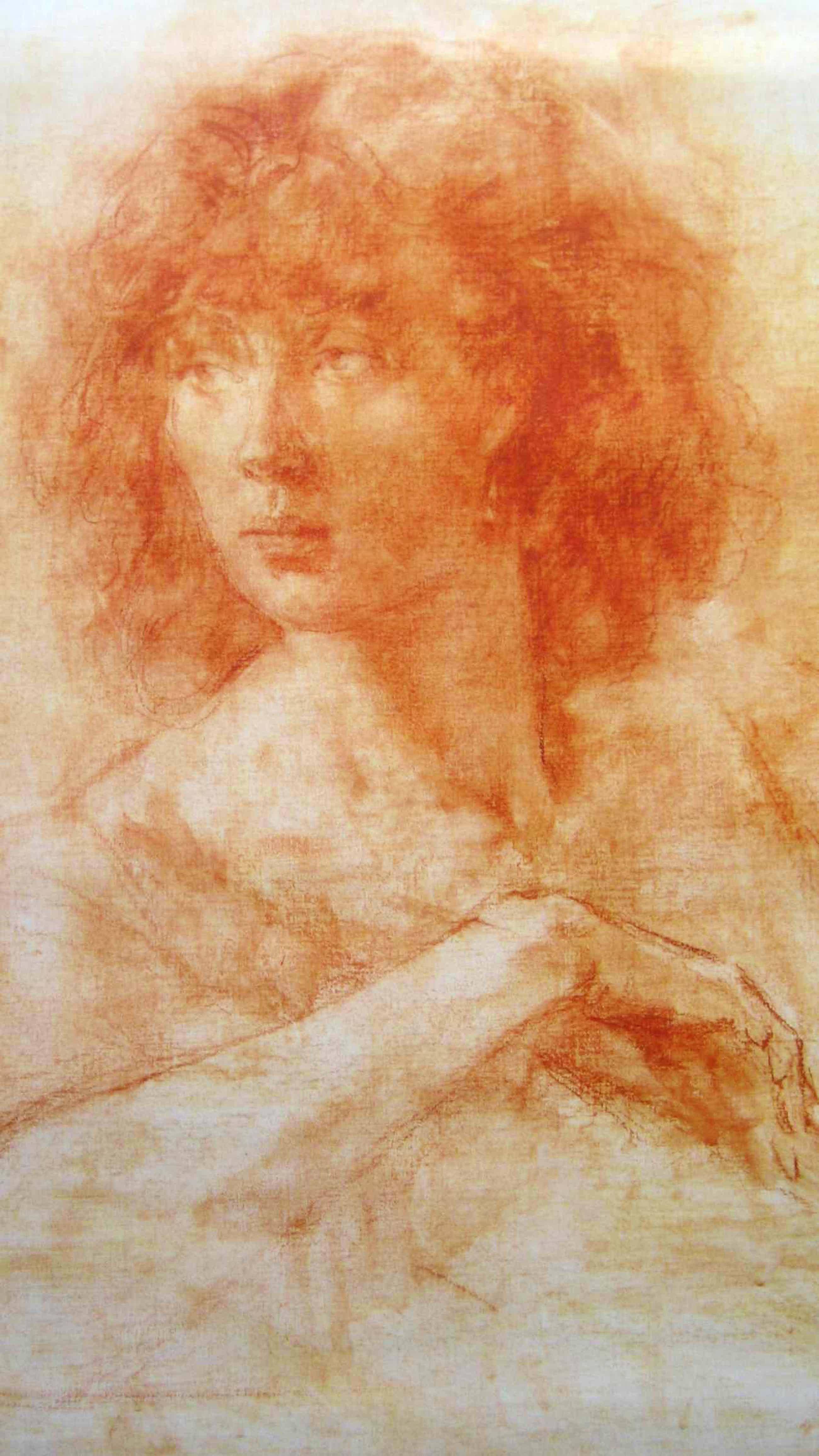 Sierk Schroder - 'Margret'- litho naar een tekening uit 1980 - oplage 200 ex. kopen? Bied vanaf 52!