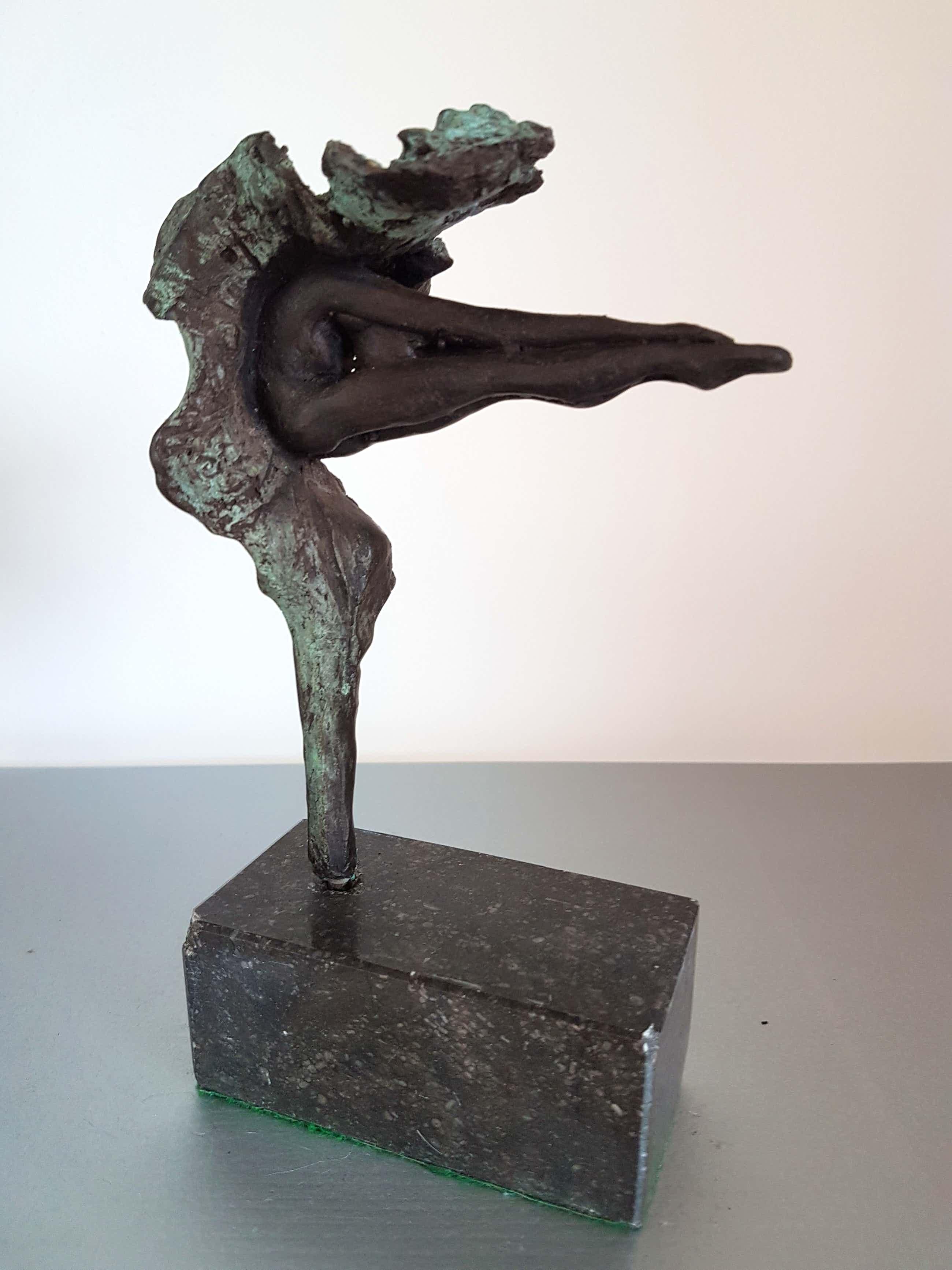 Klaas van den Berg - 1941 - 2018 Schitterend Bronzen beeld Vrij werk kopen? Bied vanaf 150!