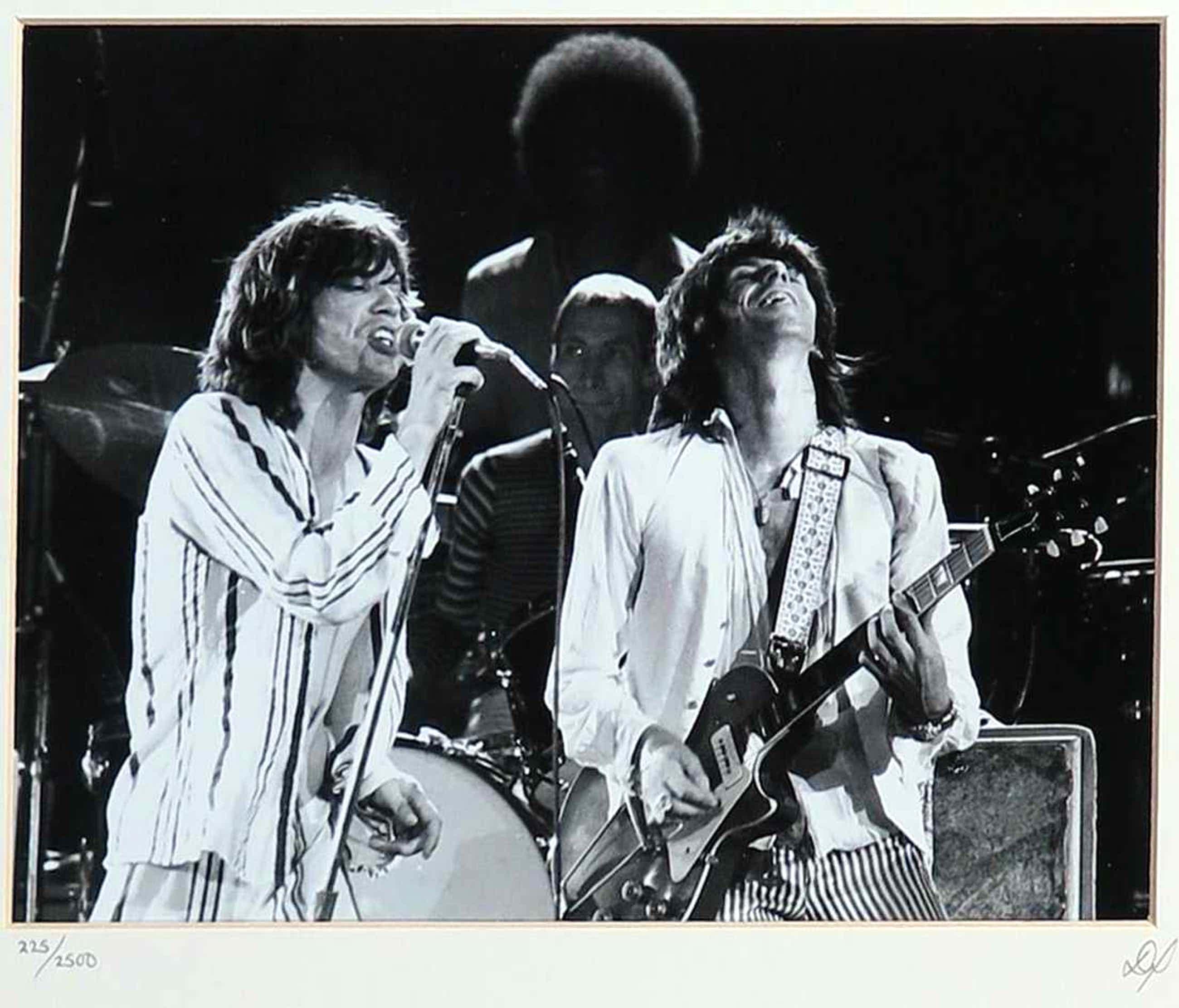 Niet of onleesbaar gesigneerd - Foto, uitgegeven door Studio Limited Edition, The Rolling stones kopen? Bied vanaf 40!