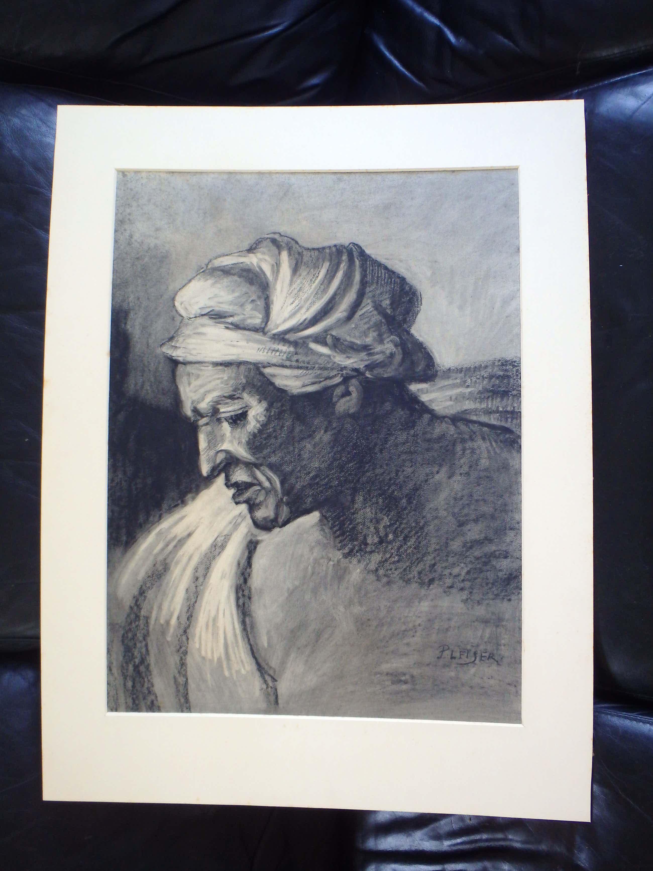 George Pletser - Portret van een Oosterling kopen? Bied vanaf 50!