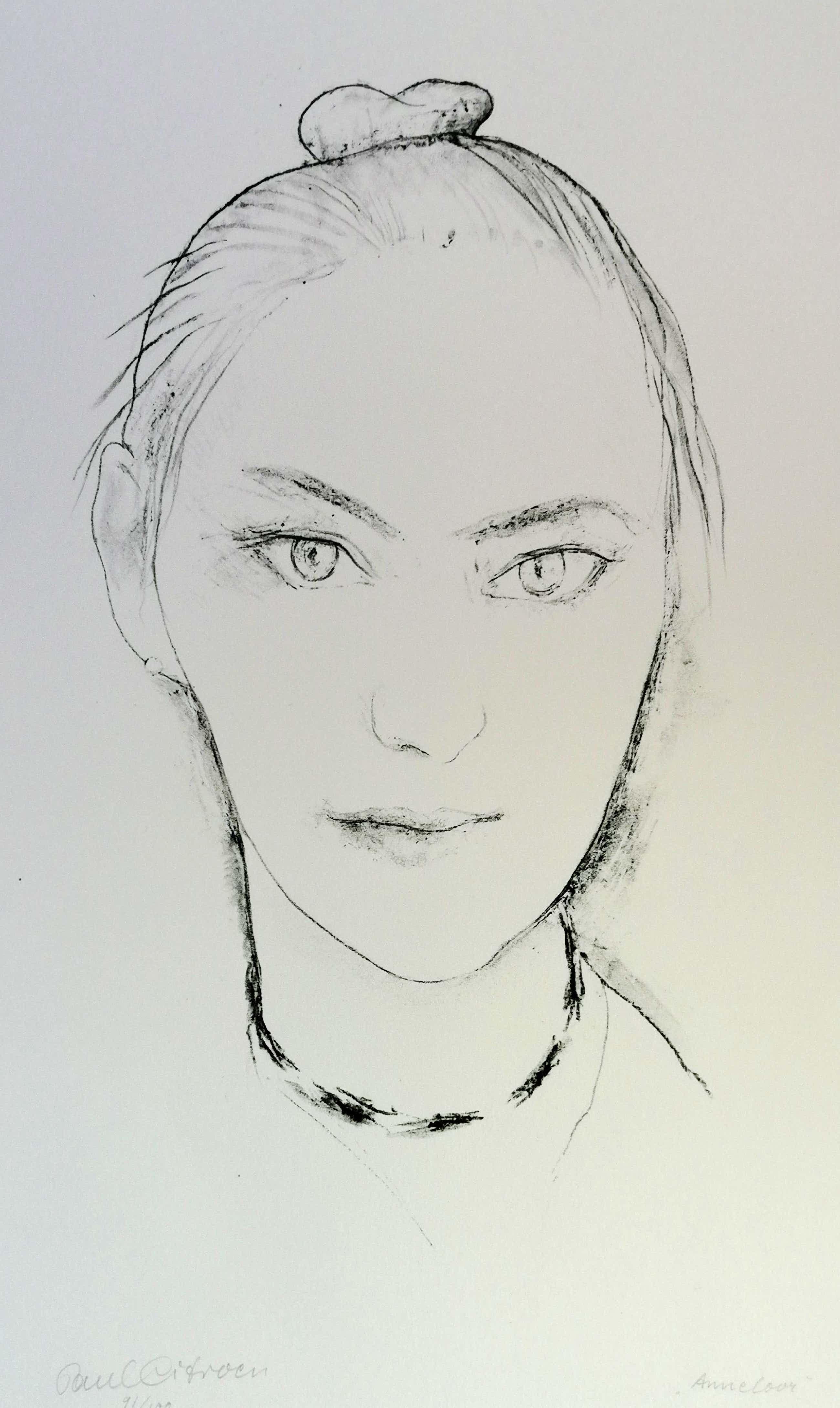 Paul Citroen - Portret van Anneloor kopen? Bied vanaf 35!