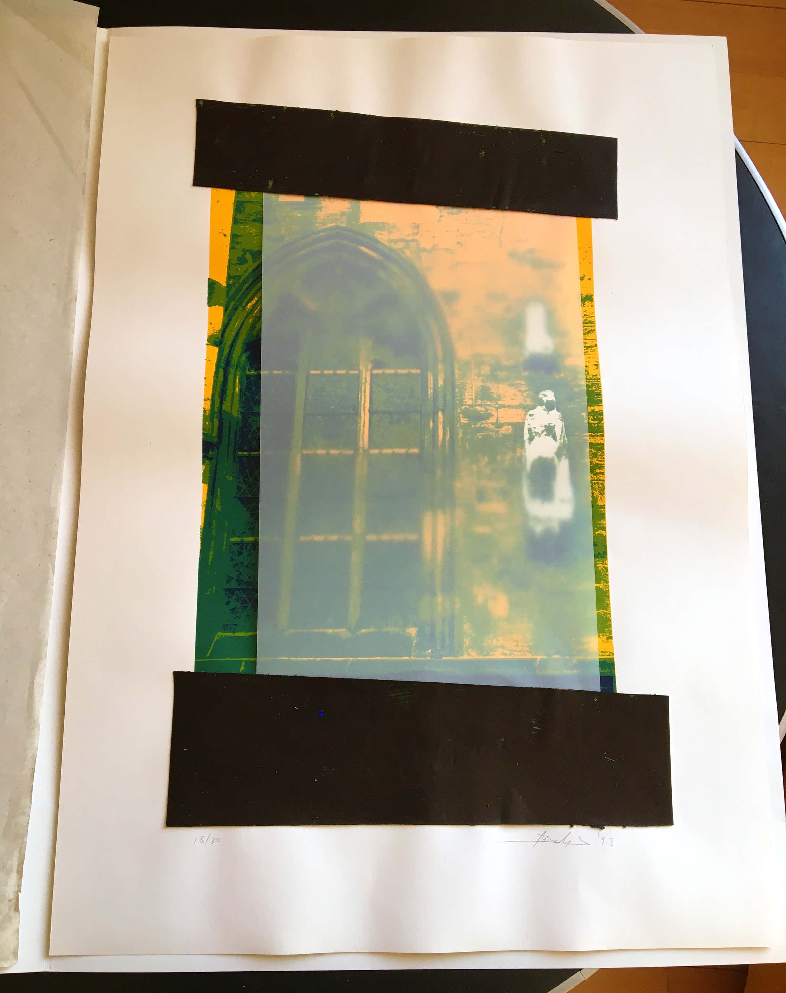 Helle Jetzig - Siebdruck + Collage kopen? Bied vanaf 480!