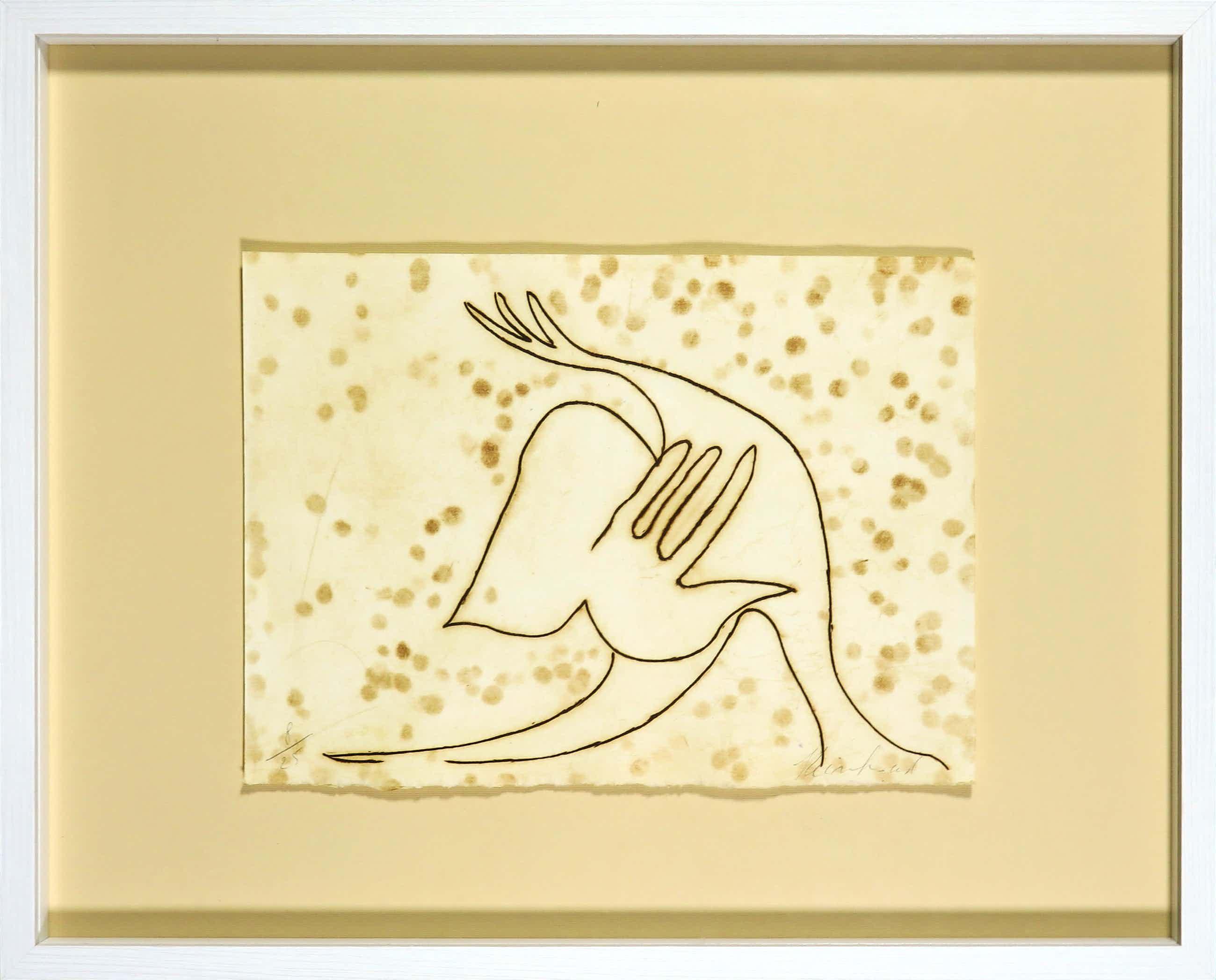 Reinhoud D'Haese - Ets uitgegeven door Avant Galleries New York - Ingelijst kopen? Bied vanaf 90!