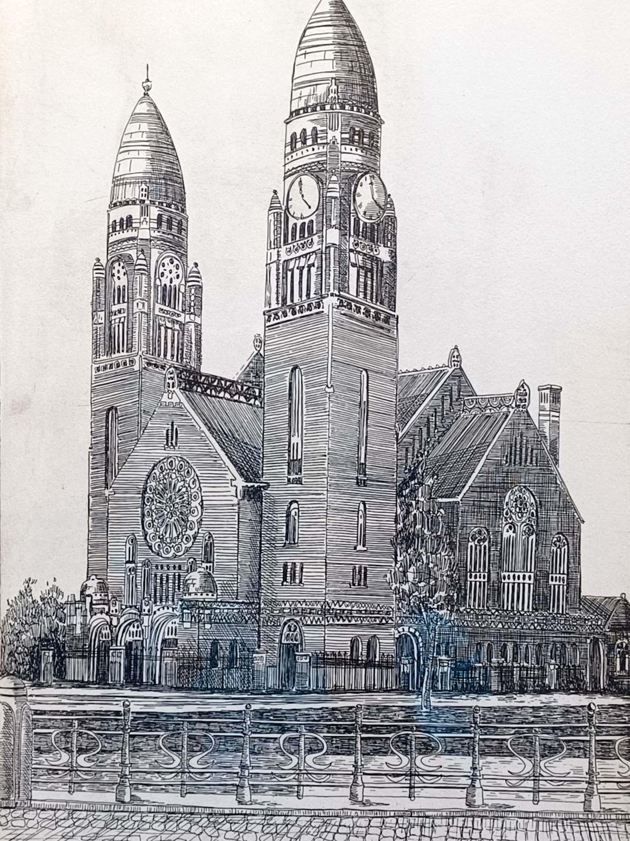 Willem Veldhorst - Koninginnekerk Rotterdam. kopen? Bied vanaf 30!