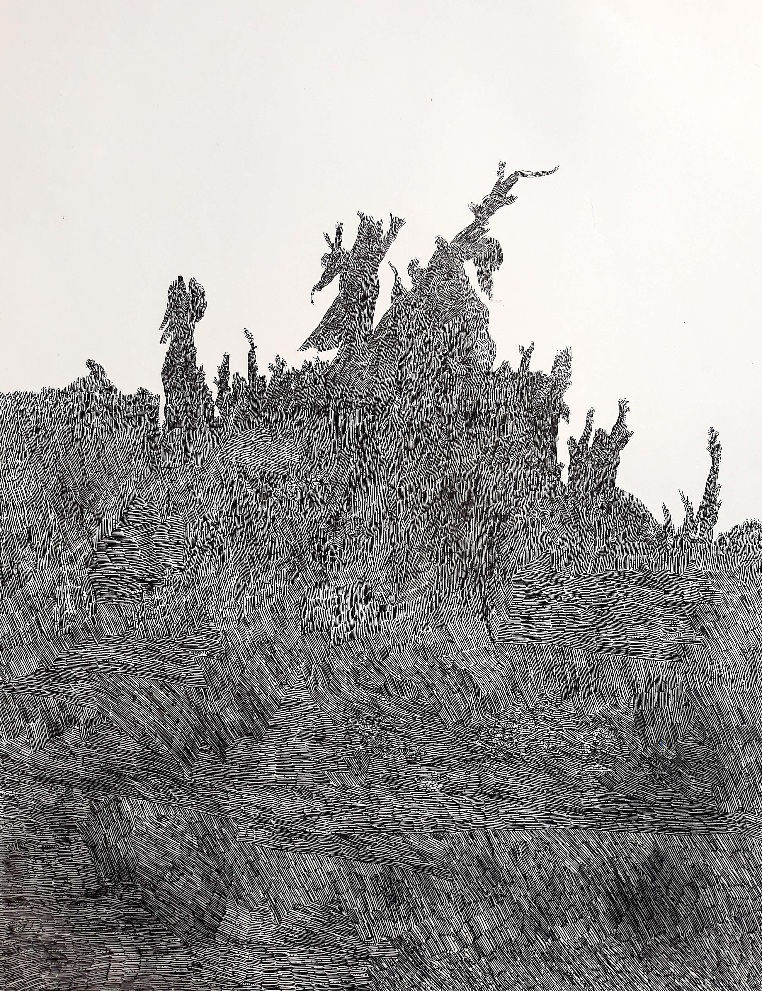 Henri Plaat - Abstracte compositie, litho kopen? Bied vanaf 60!