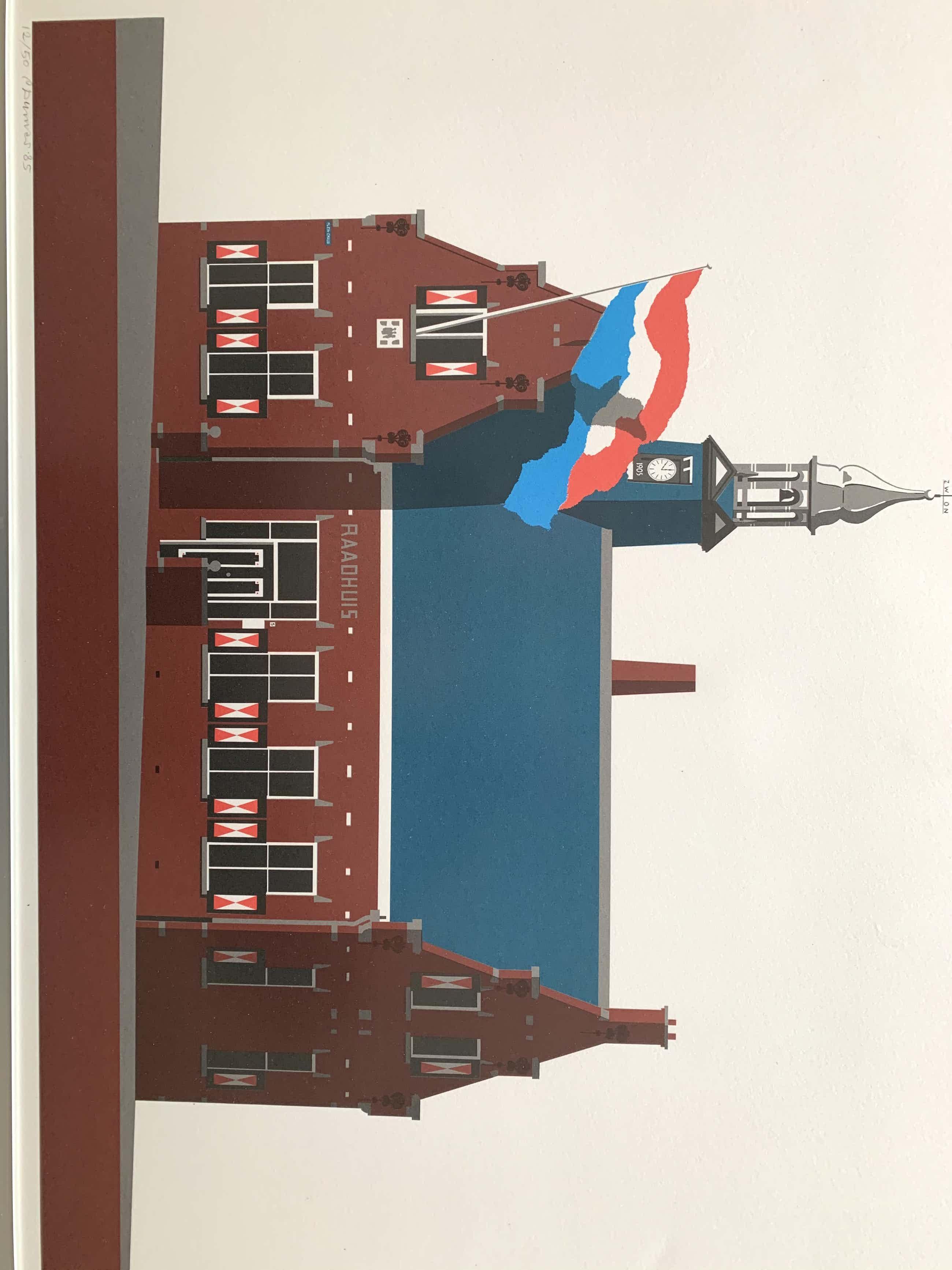 Peter Dumas - Raadhuis Vlaardingen kopen? Bied vanaf 60!