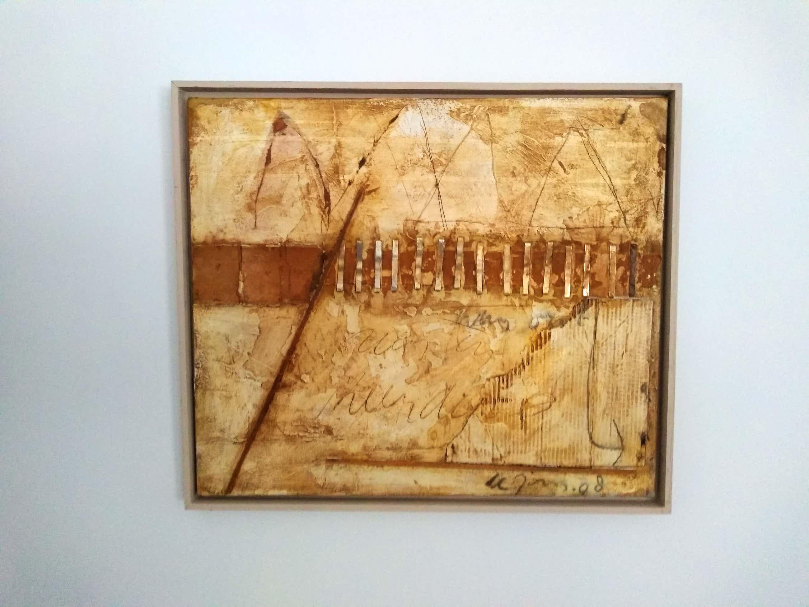 Leo de Jong - modern abstract kopen? Bied vanaf 250!
