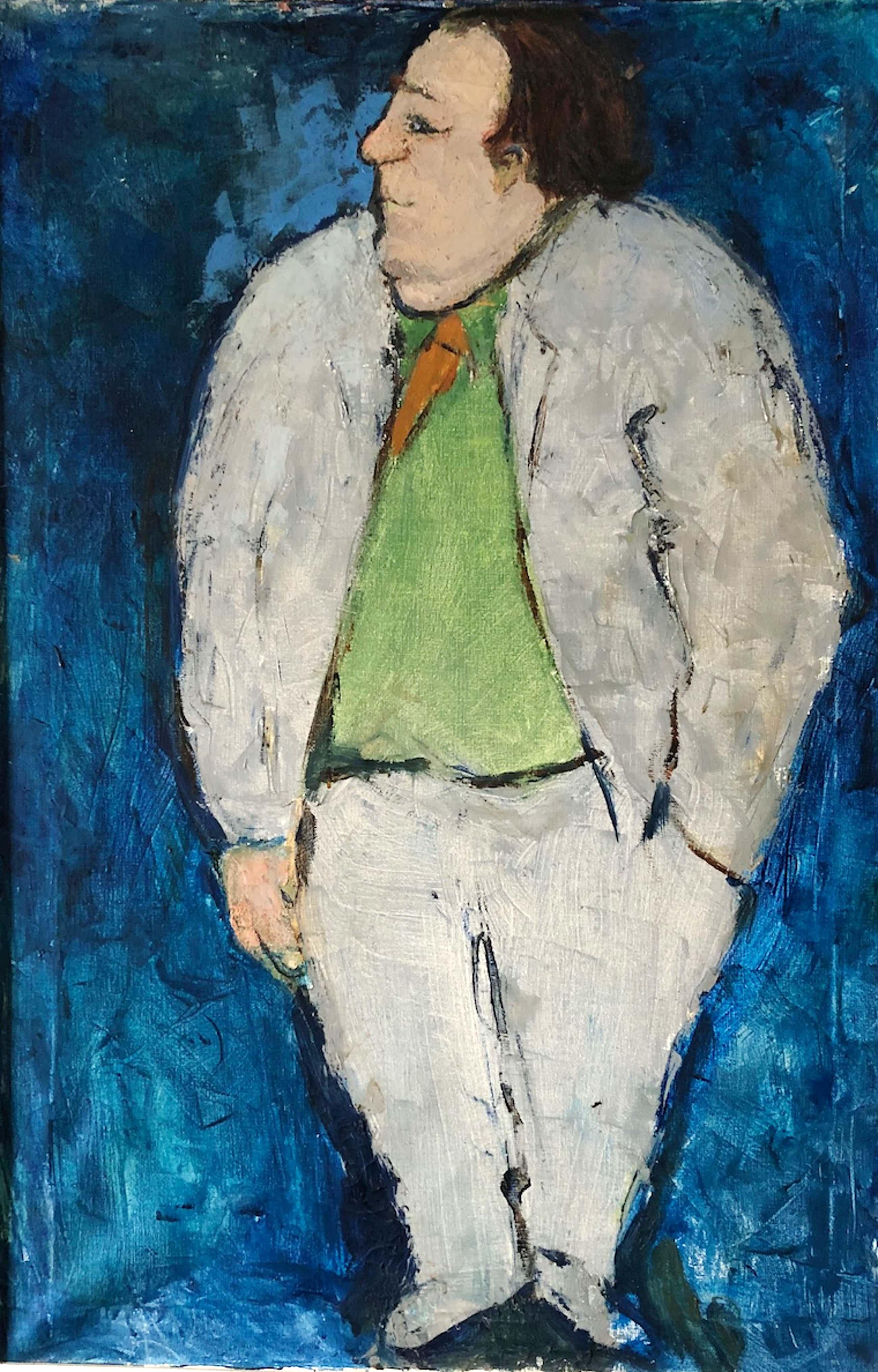 Karel Frank Carwalho - portret van een man uit de Pijp kopen? Bied vanaf 150!