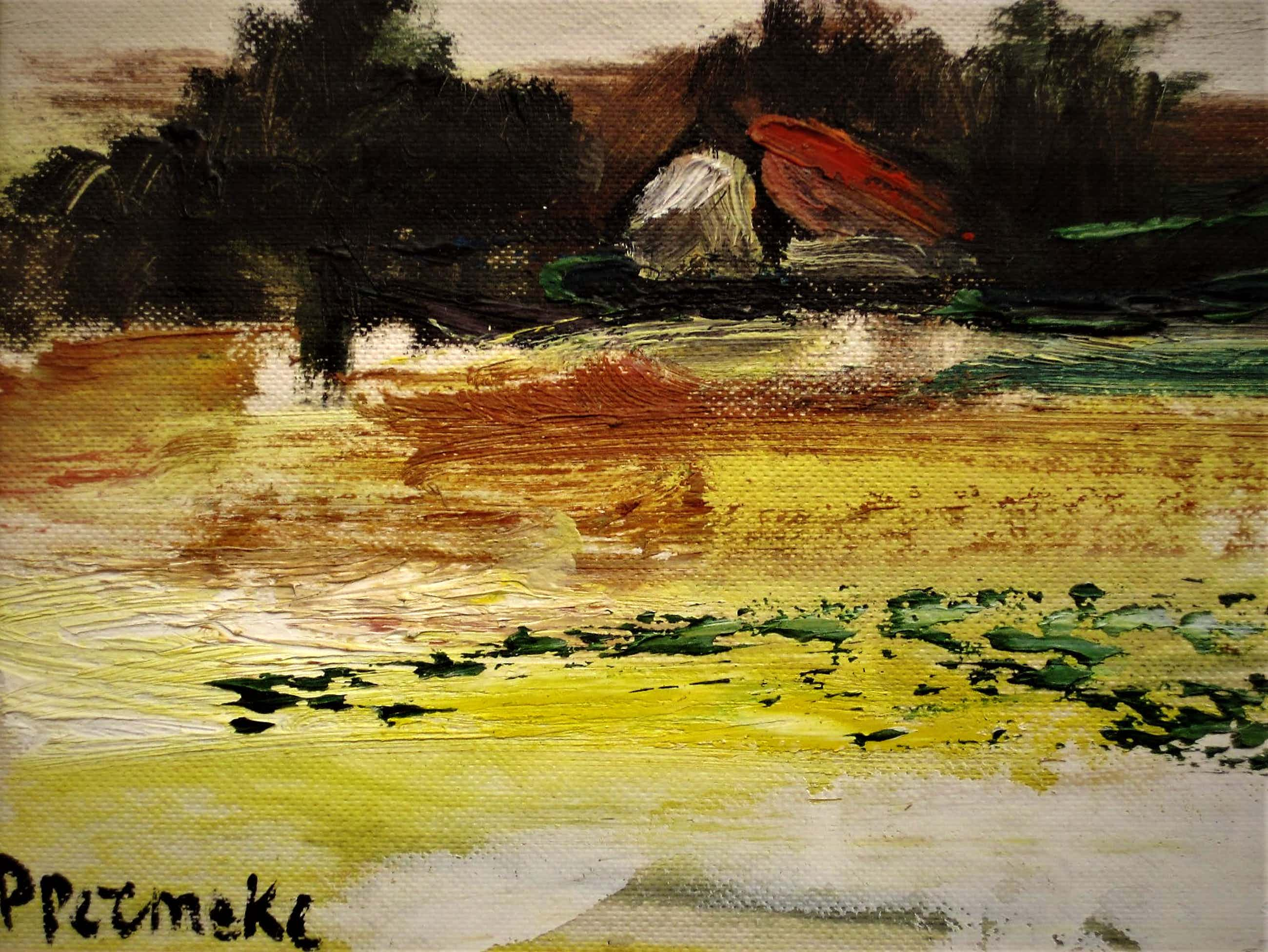 "Paul Permeke - Mooi impressionistisch OLIEVERF ""Herfst landschap met boerderij"" gesigneerd kopen? Bied vanaf 111!"