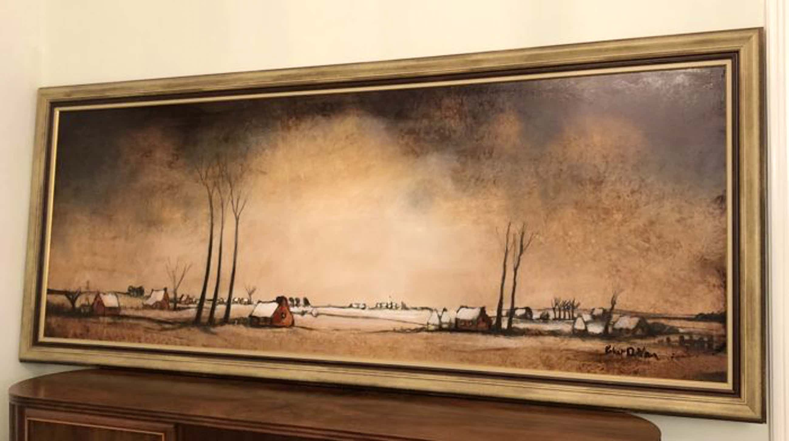 Robert De Man - Mooi olieverf schilderij (landschap ) kopen? Bied vanaf 50!