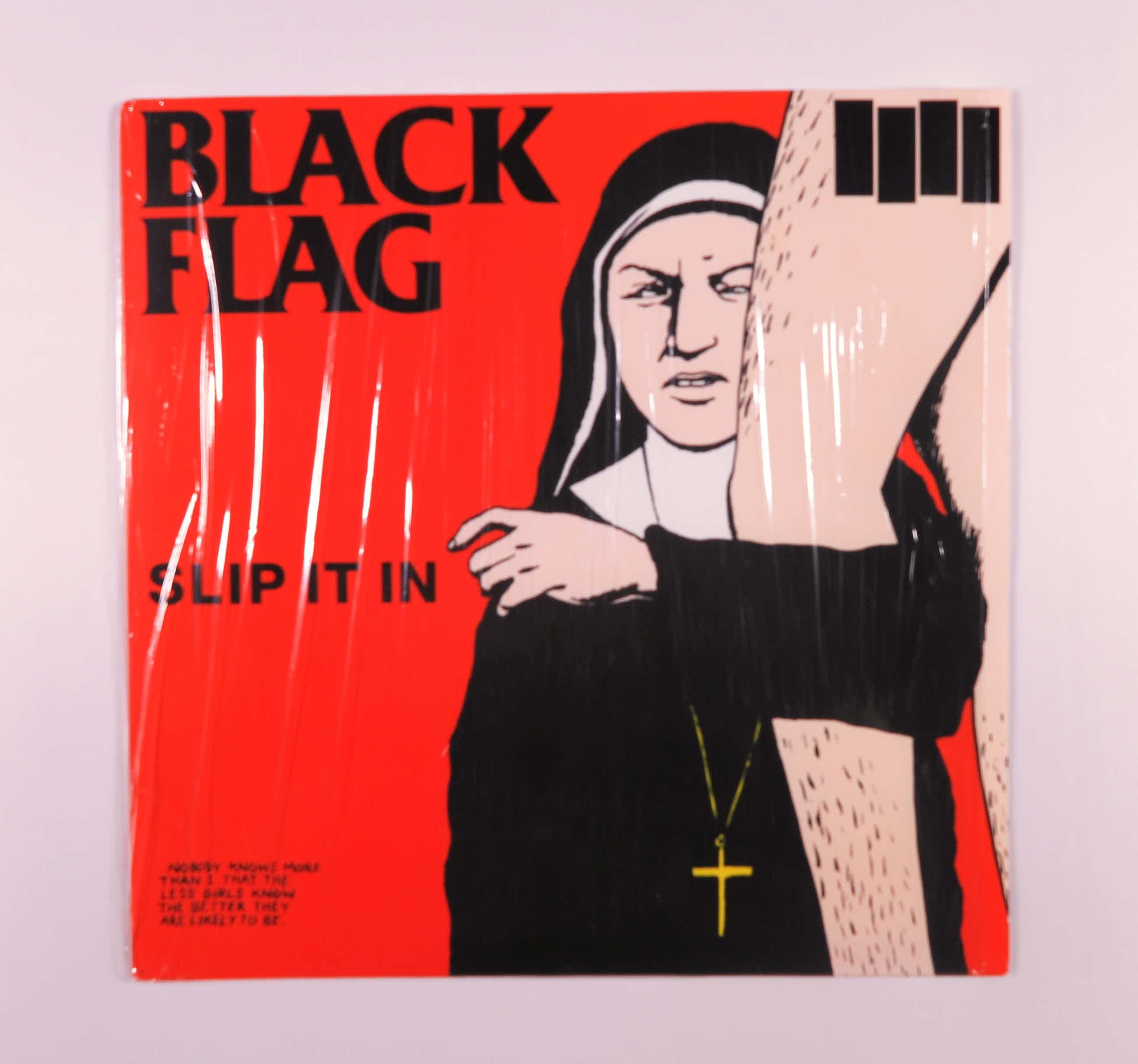 Black Flag - Slip it in - Hoesontwerp Raymond Pettibon kopen? Bied vanaf 20!