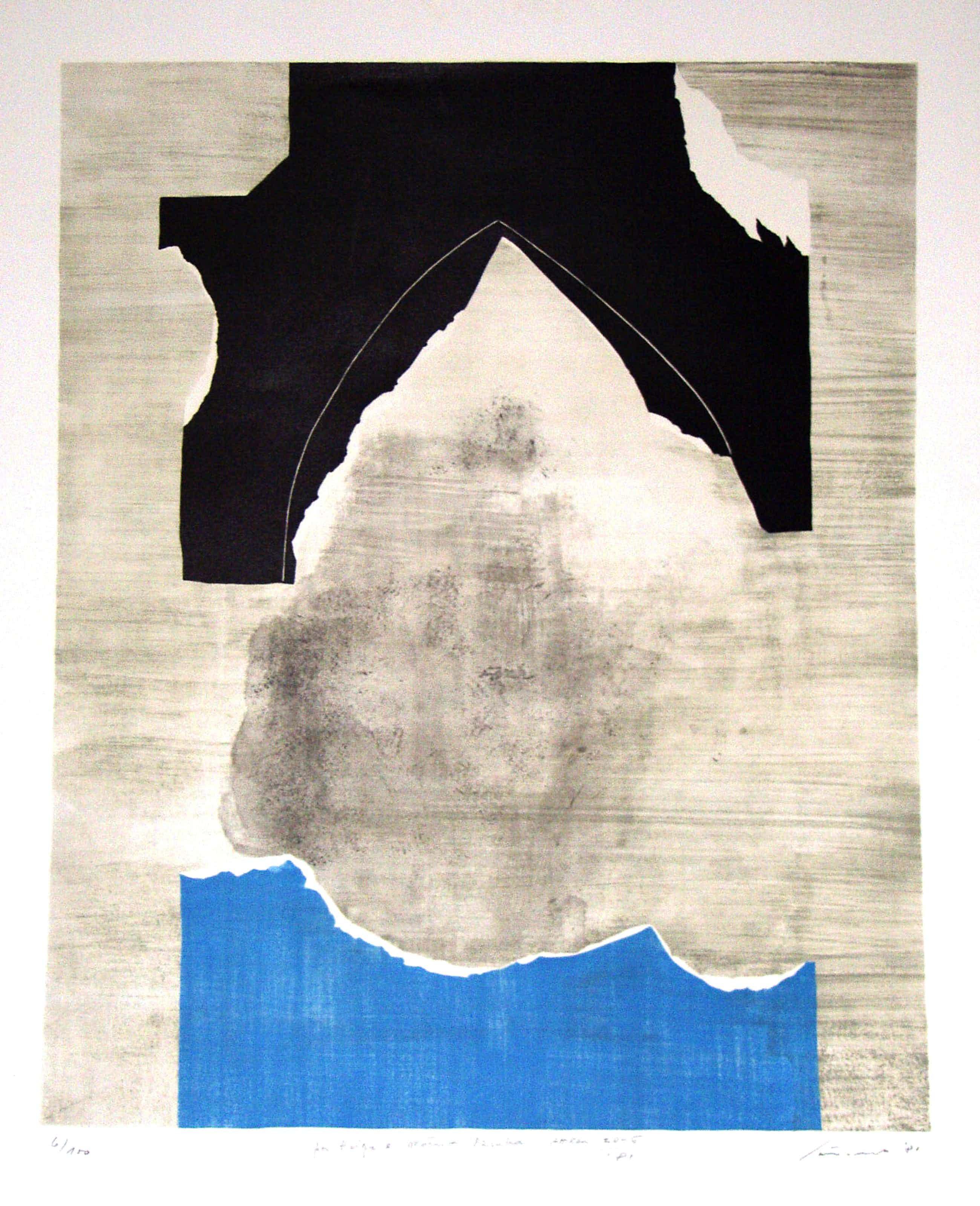 Giuseppe Santomaso - Abstrakt kopen? Bied vanaf 175!
